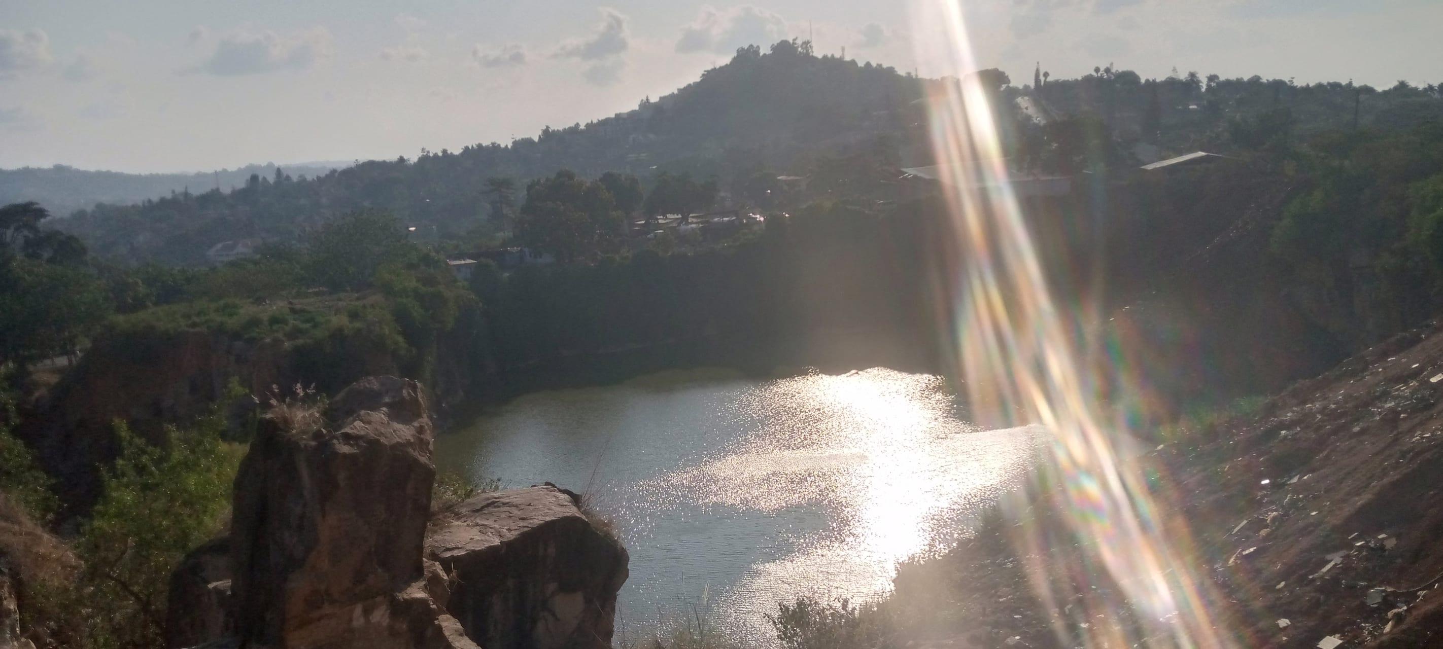 Kampala - Quarry/Rock Climbing: See Africa Map Water Depression