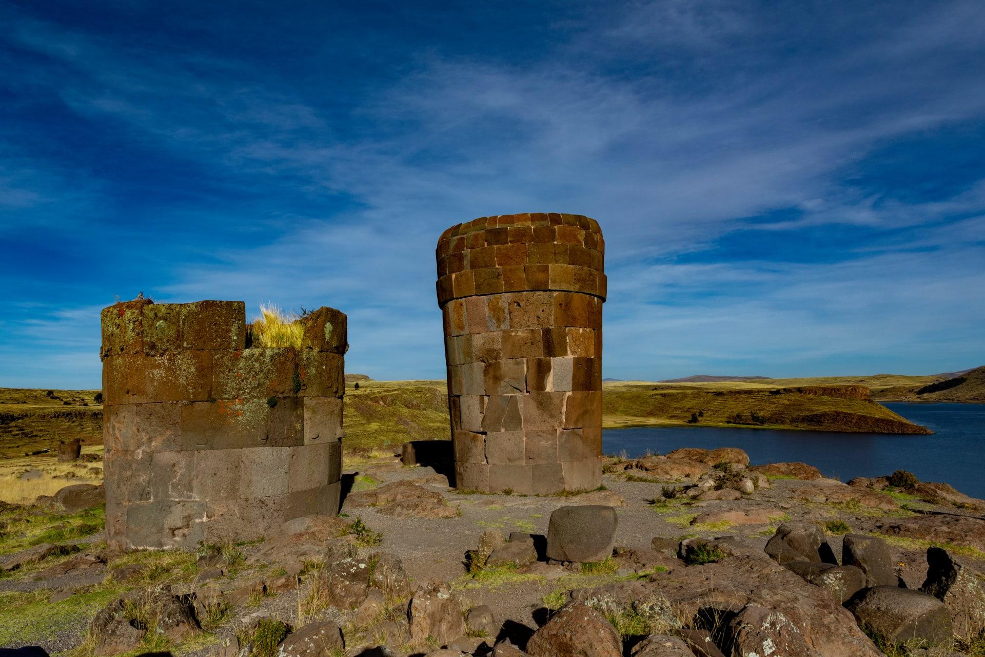 Puno - Incas and Pre-Incas Funeral Towers