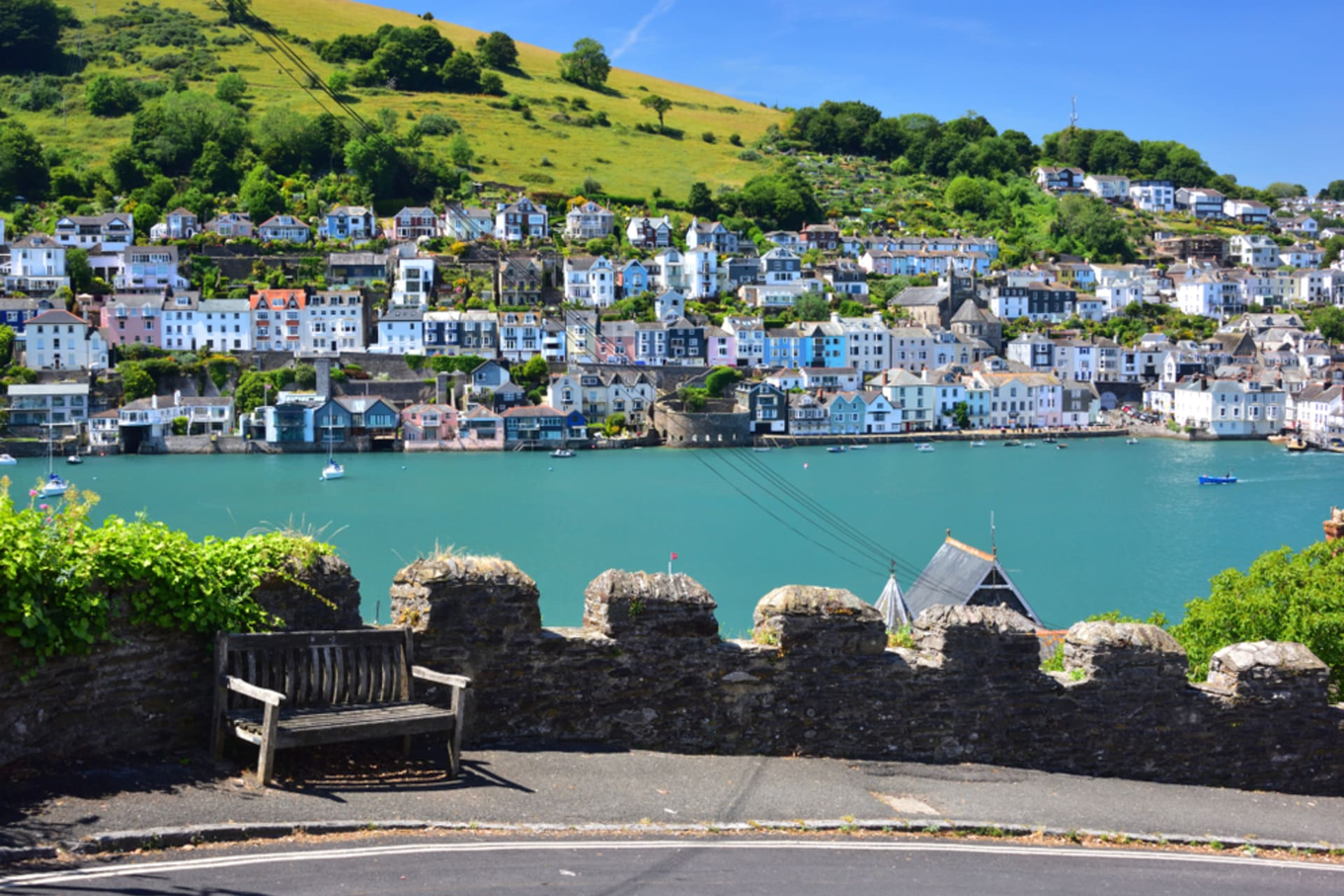 Devon - Dartmouth: maritime town with a Mayflower connection