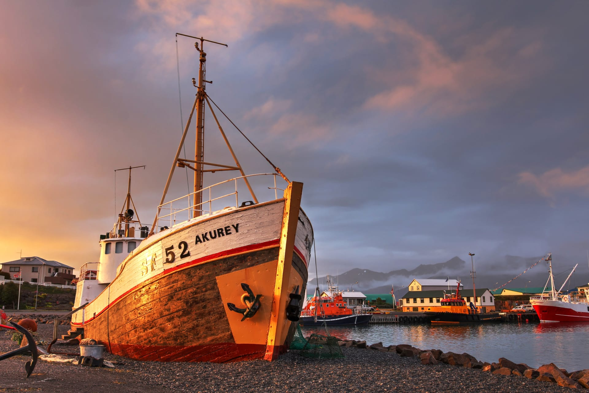 Southeast Iceland - A thriving old town at the foot of Europes largest glacier.