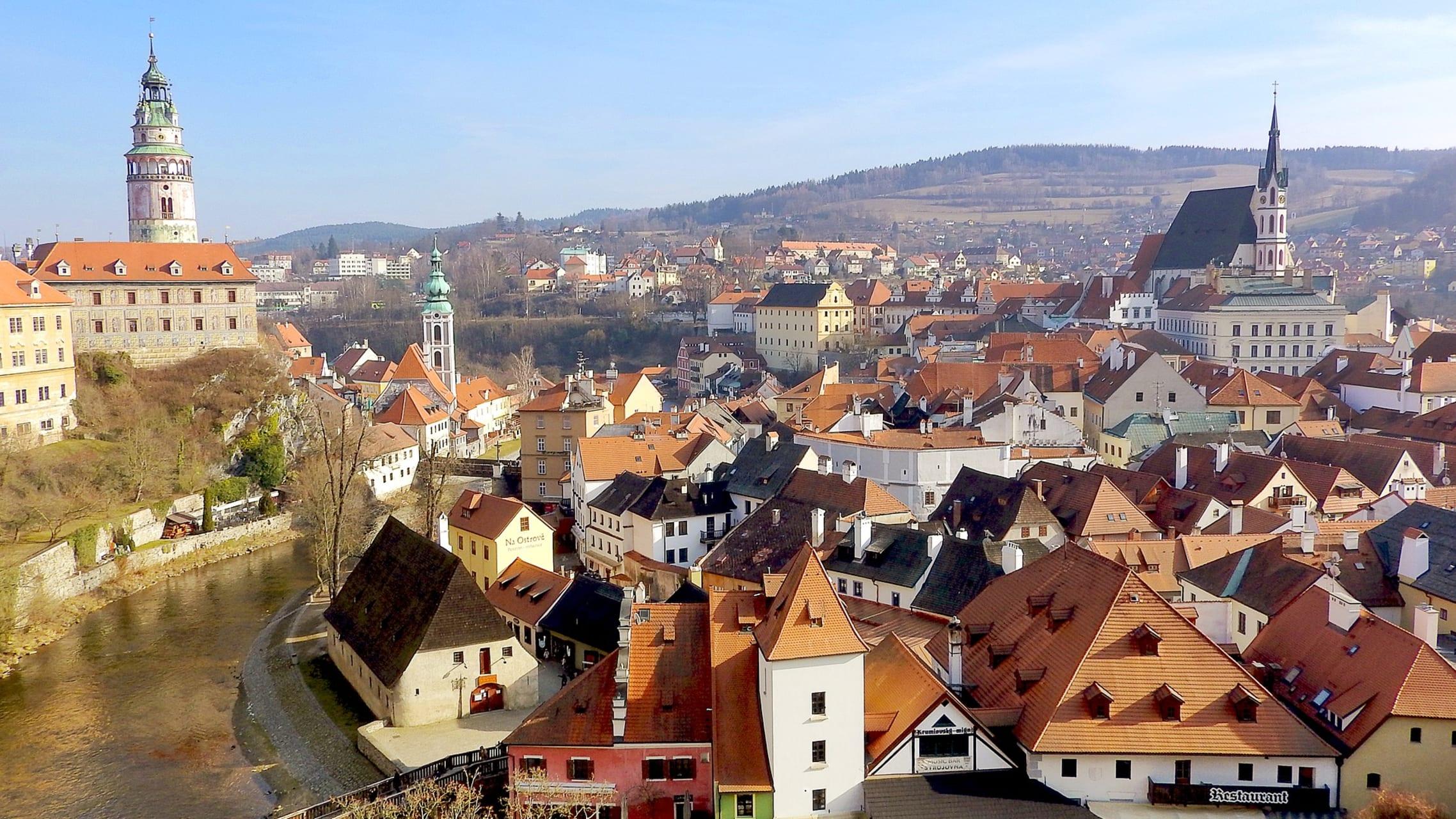 Cesky Krumlov - UNESCO Site Cesky Krumlov - Fairy Tale Town and Castle