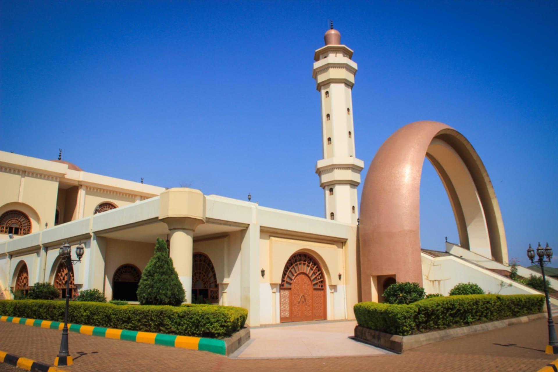 Kampala - The prominent Gaddafi National Mosque in Uganda.