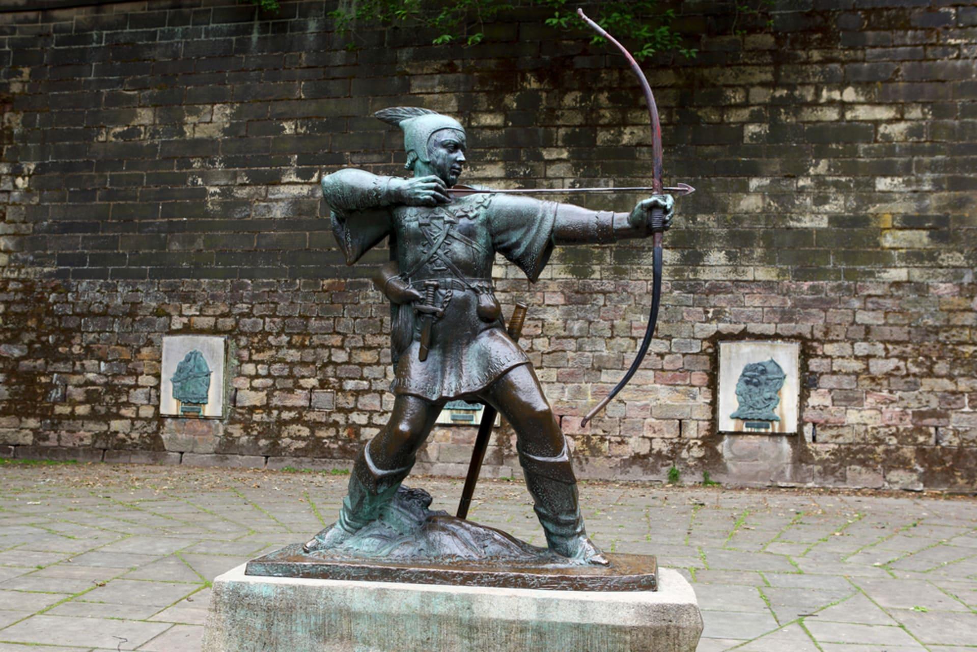 Nottingham - Nottingham - Robin Hood und Burgviertel (TOUR IN GERMAN)
