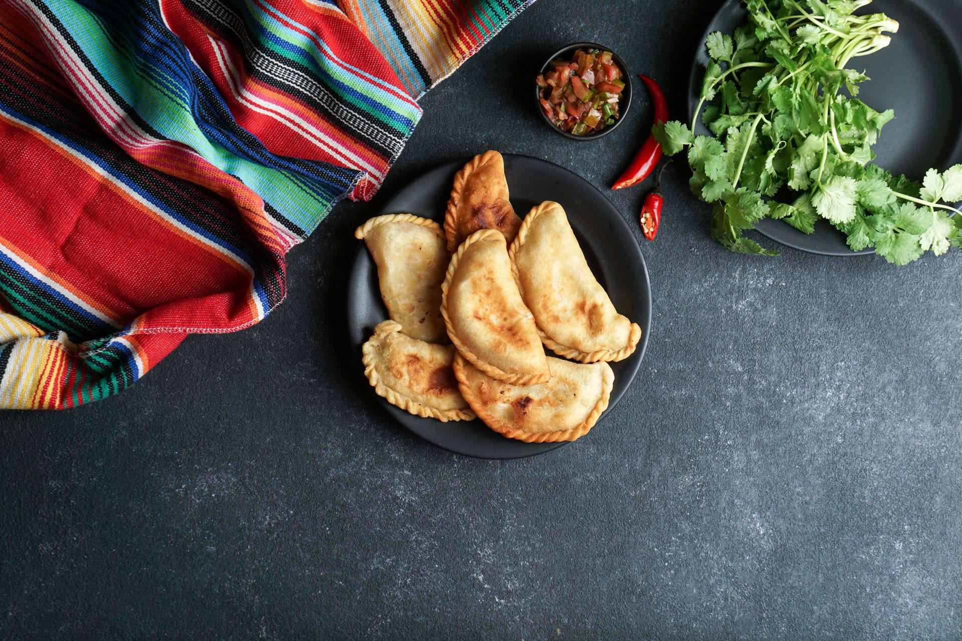 La Paz - Bolivian cuisine: Tucumanas