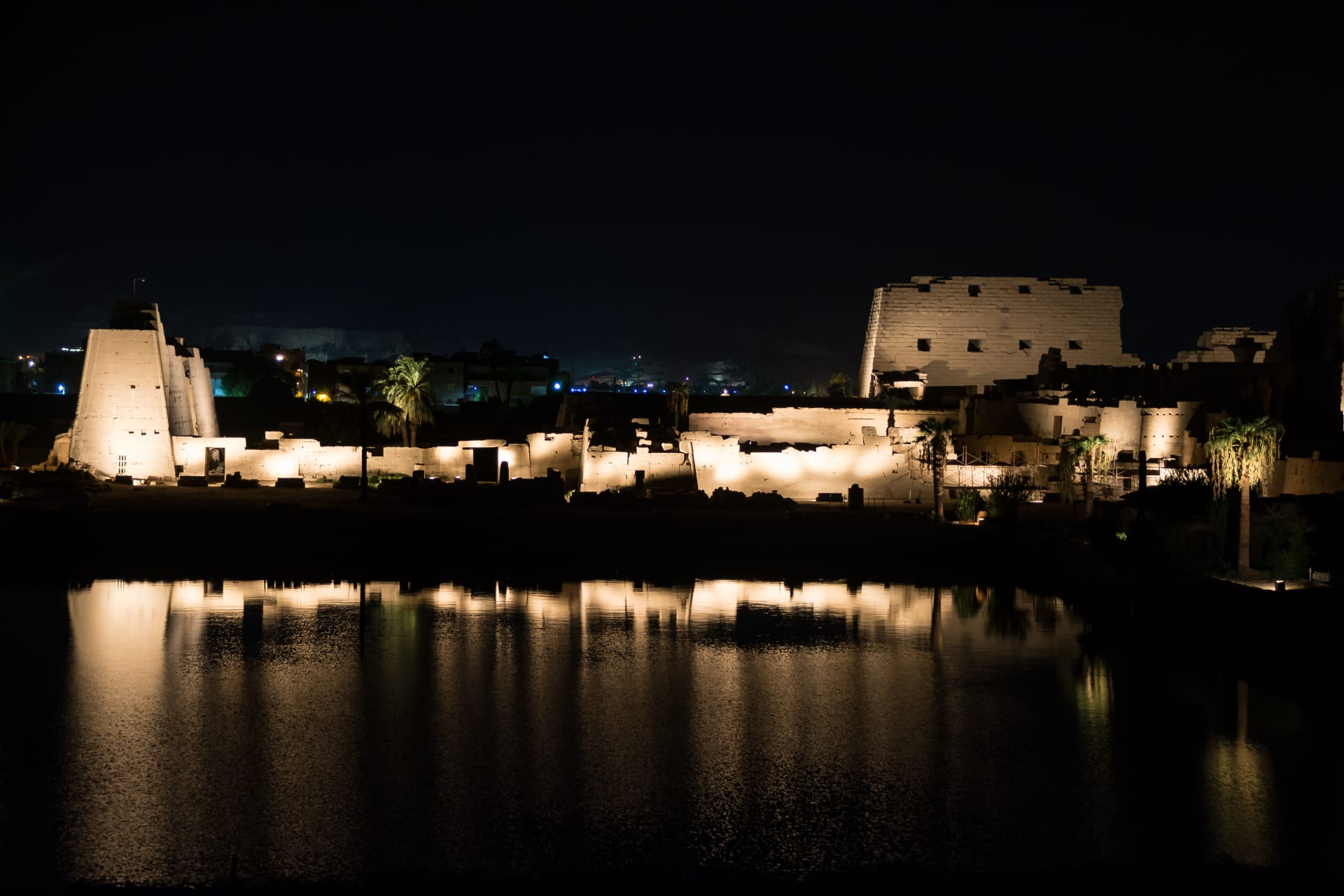 Luxor - River Nile By Night