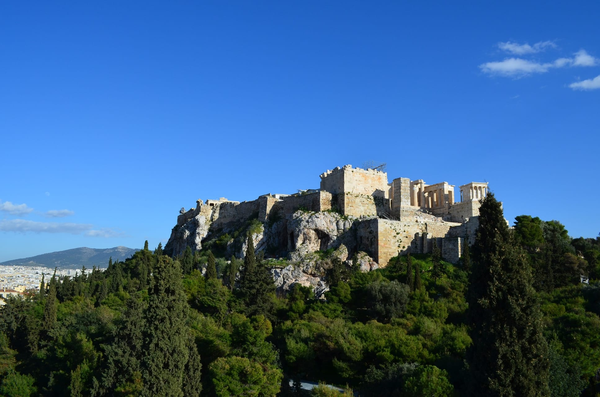 Athens - Athens, on the Foothill of the Acropolis