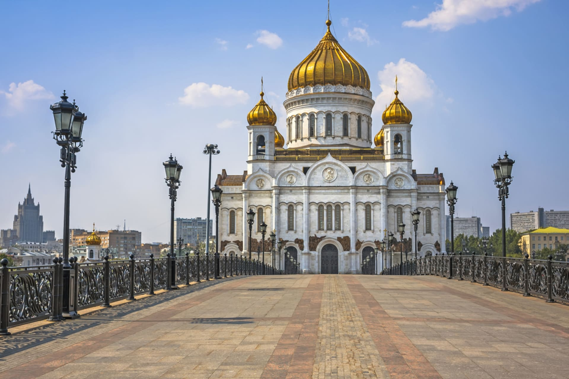 Moscow - Around The Cathedral of Christ The Saviour
