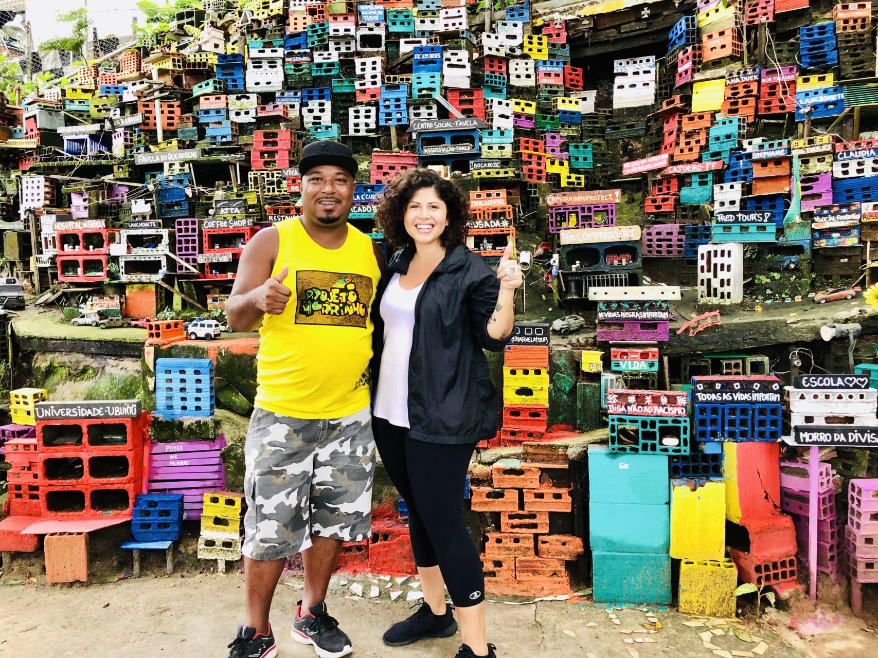 """Rio de Janeiro - Art Social Project in Rio's Favela: """"Projeto Morrinho"""" -  Charity Tour"""