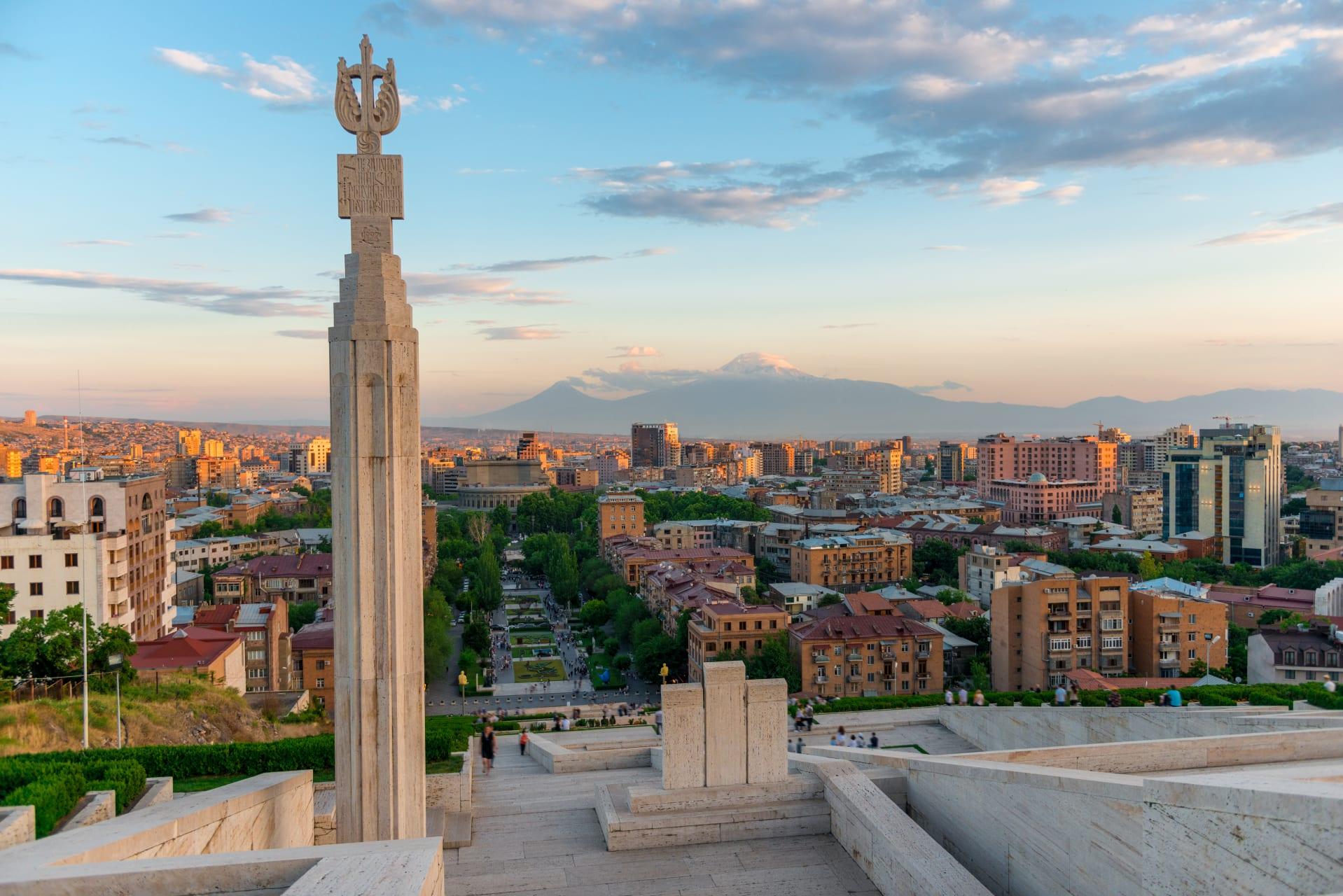 Yerevan - Evening Stroll through Yerevan City Centre