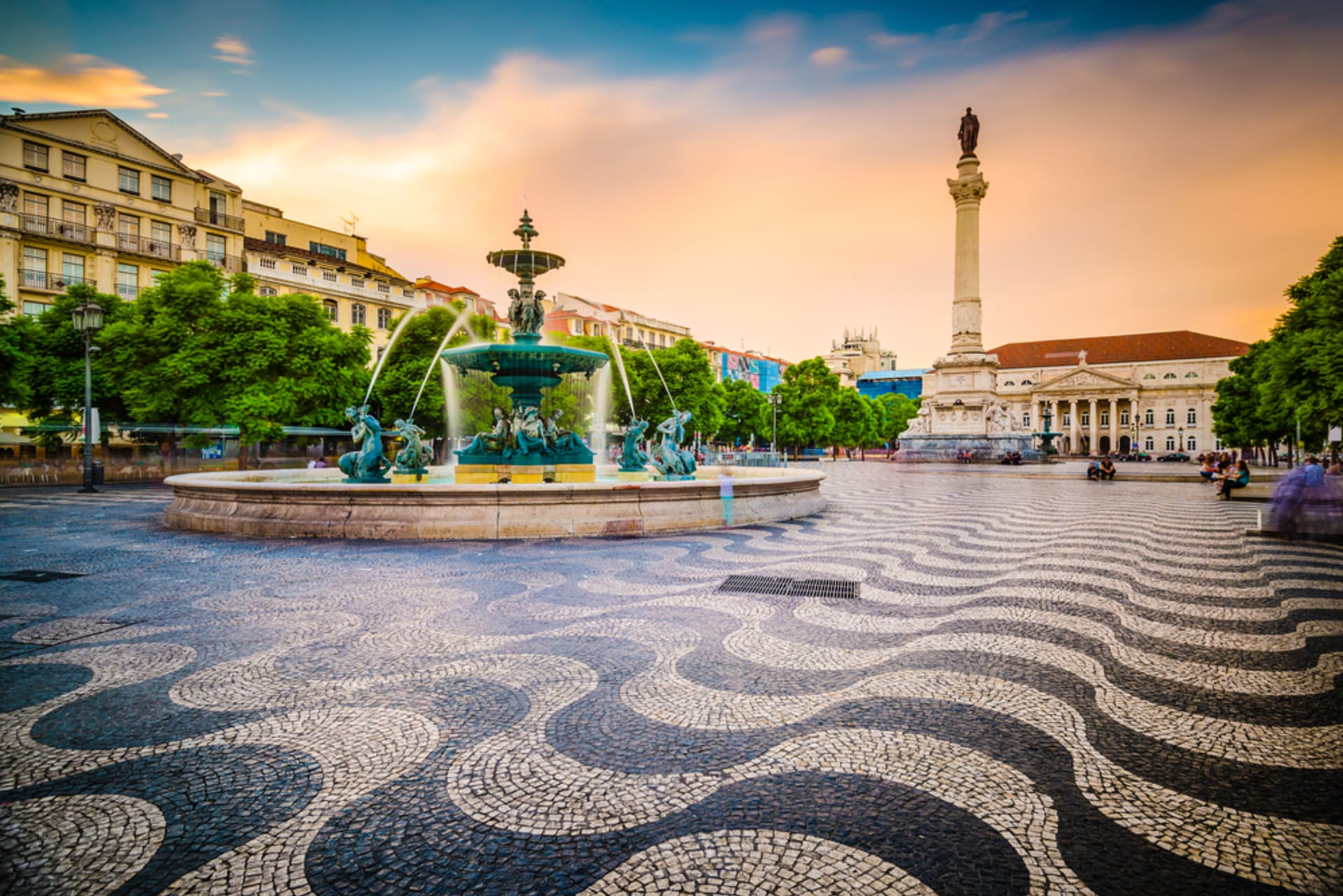 Lisbon - Rossio Square - 2000 years of history