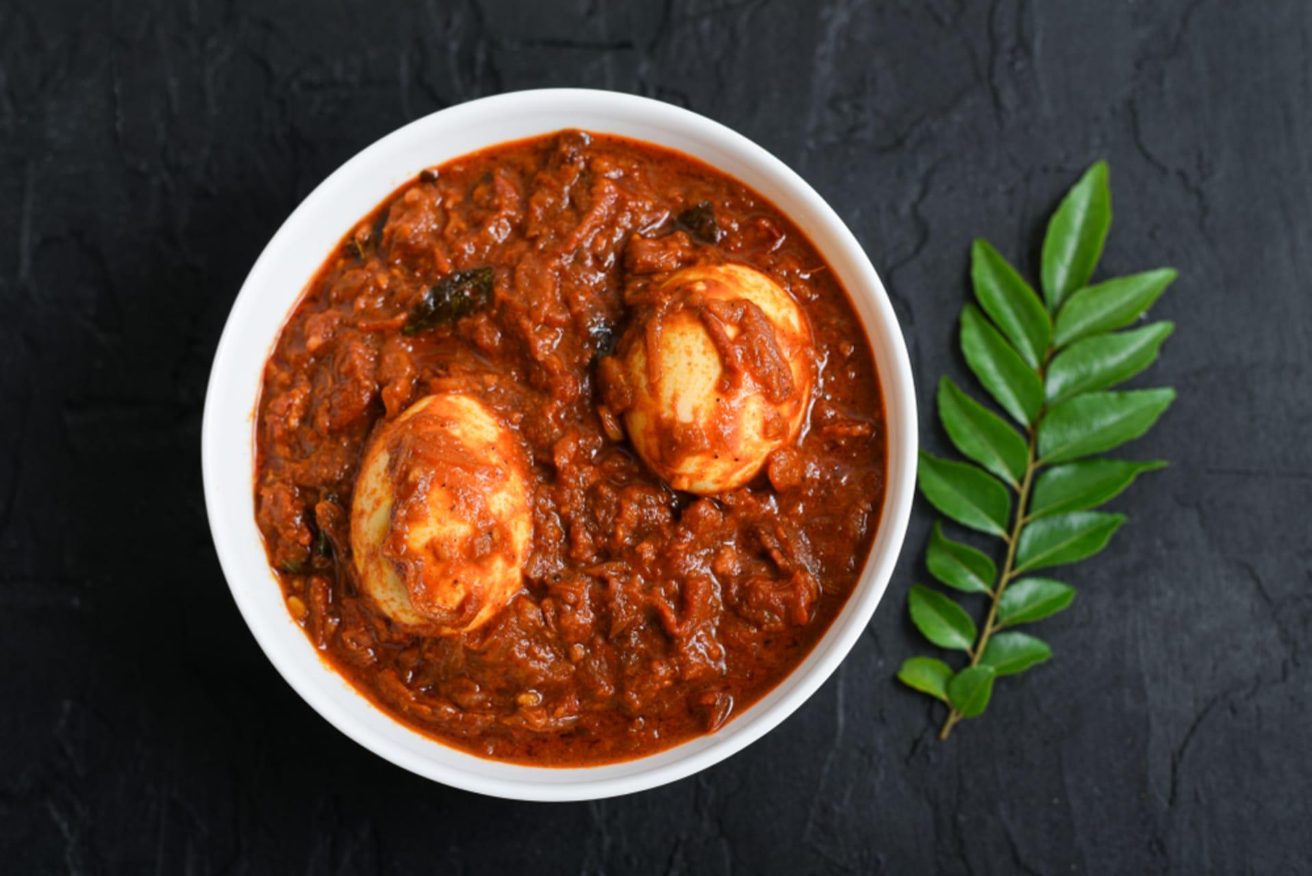 Kerala - Mutta Roast (Cooking)