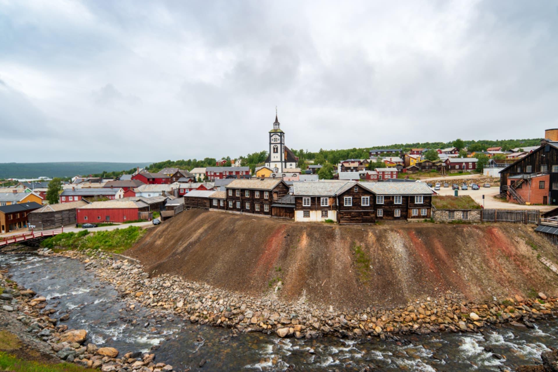 Røros -  UNESCO World Heritage Røros: A Preserved Mining Village & Emma's Favourite Town in Norway!