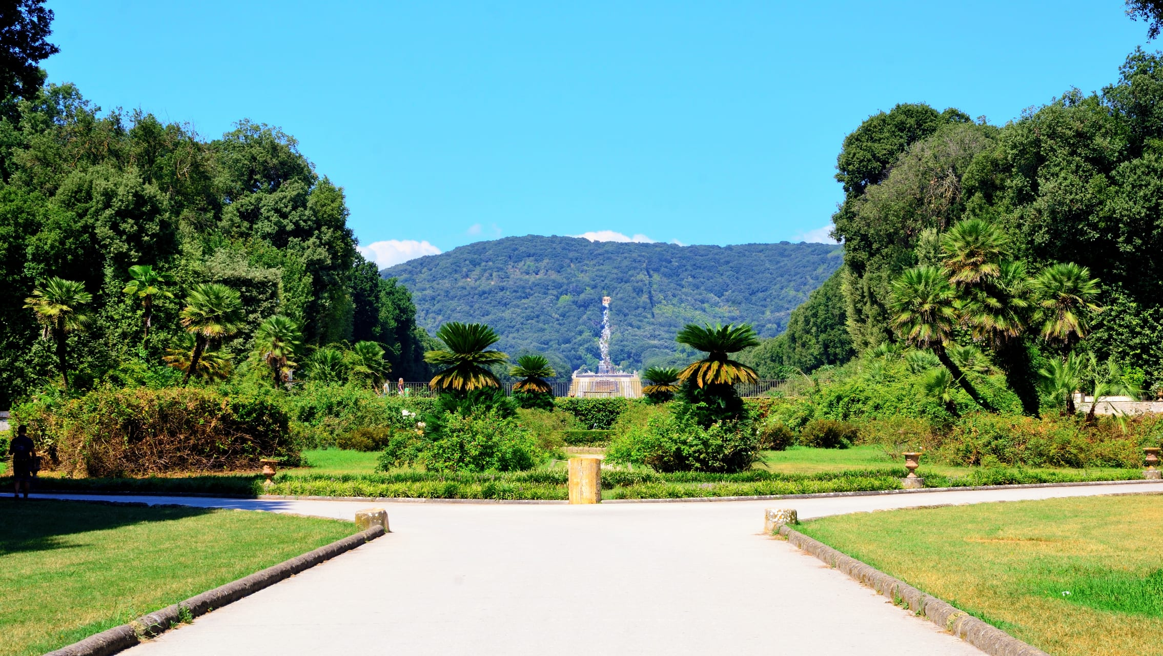 Caserta - The English Garden of the Royal Palace of Caserta