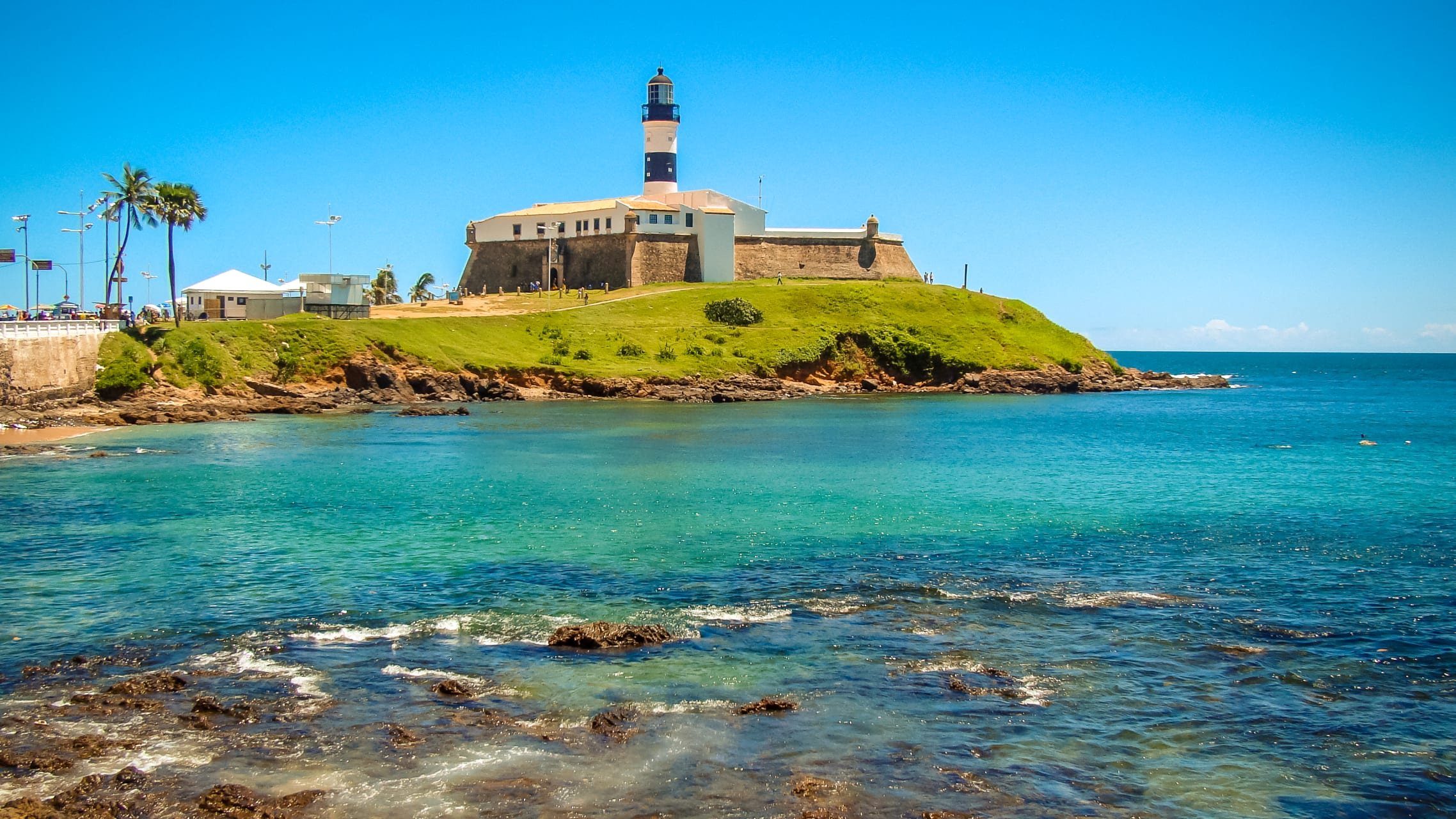 Salvador Bahia - Salvador 6 - The Oldest Light House in the Americas and the best Carnival Location in Bahia