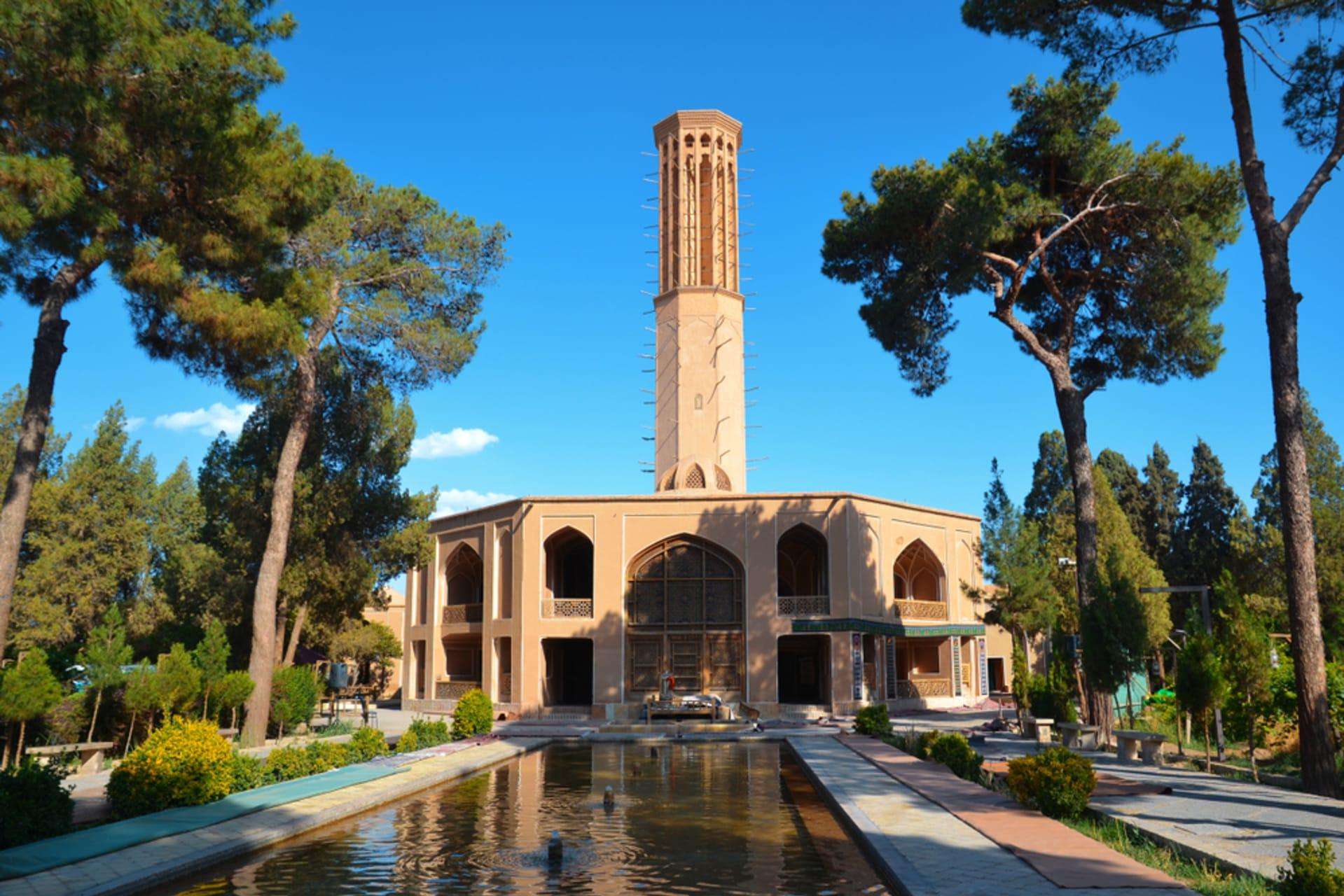 Yazd - Dowlat Abad: Loftiest Badgir of Iran