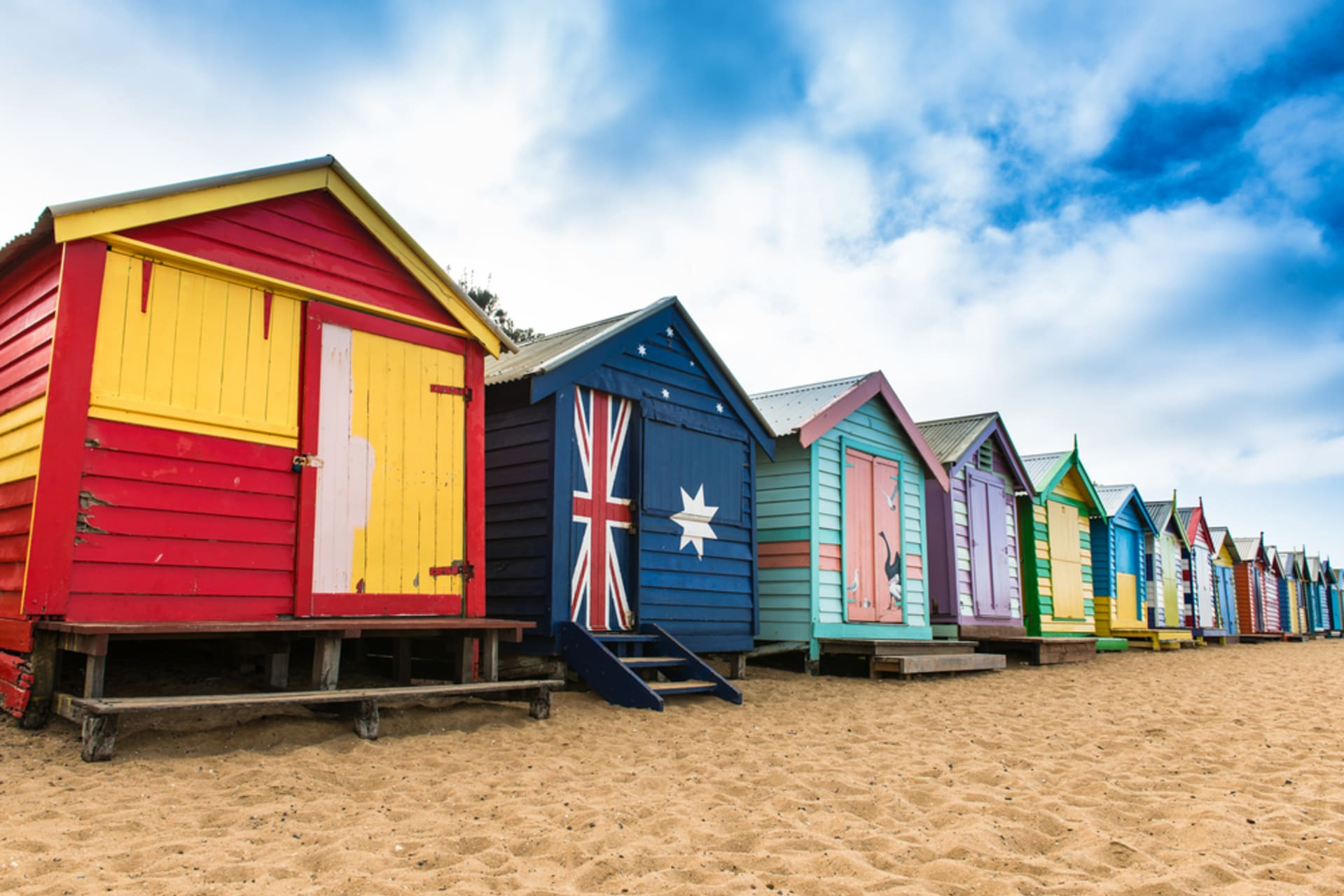 Melbourne - A Stroll Along Melbourne's Most Decorated Beach