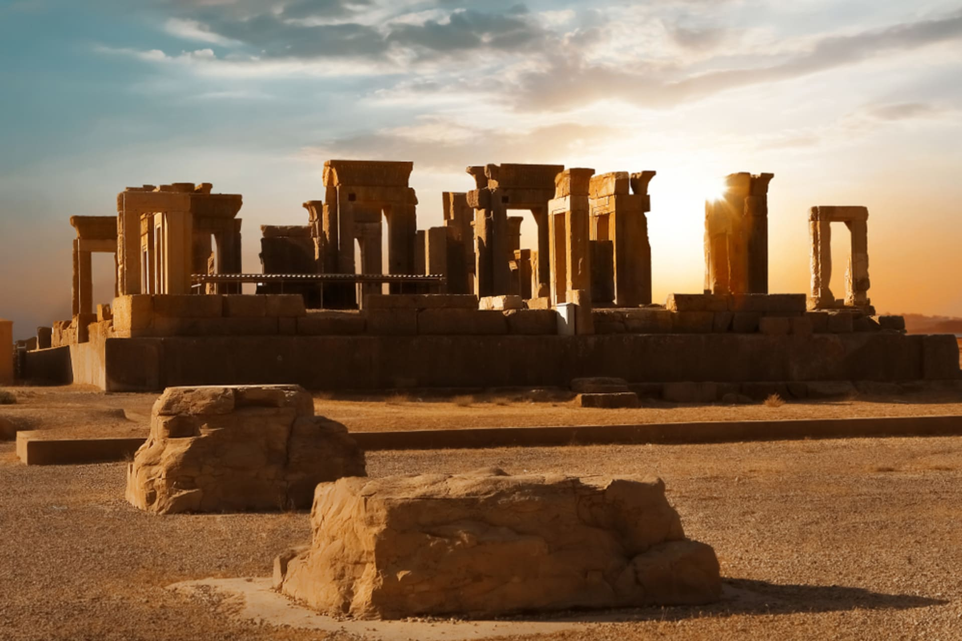 Persepolis and Necropolis - Persepolis, The Ancient Persian Empire: Part II