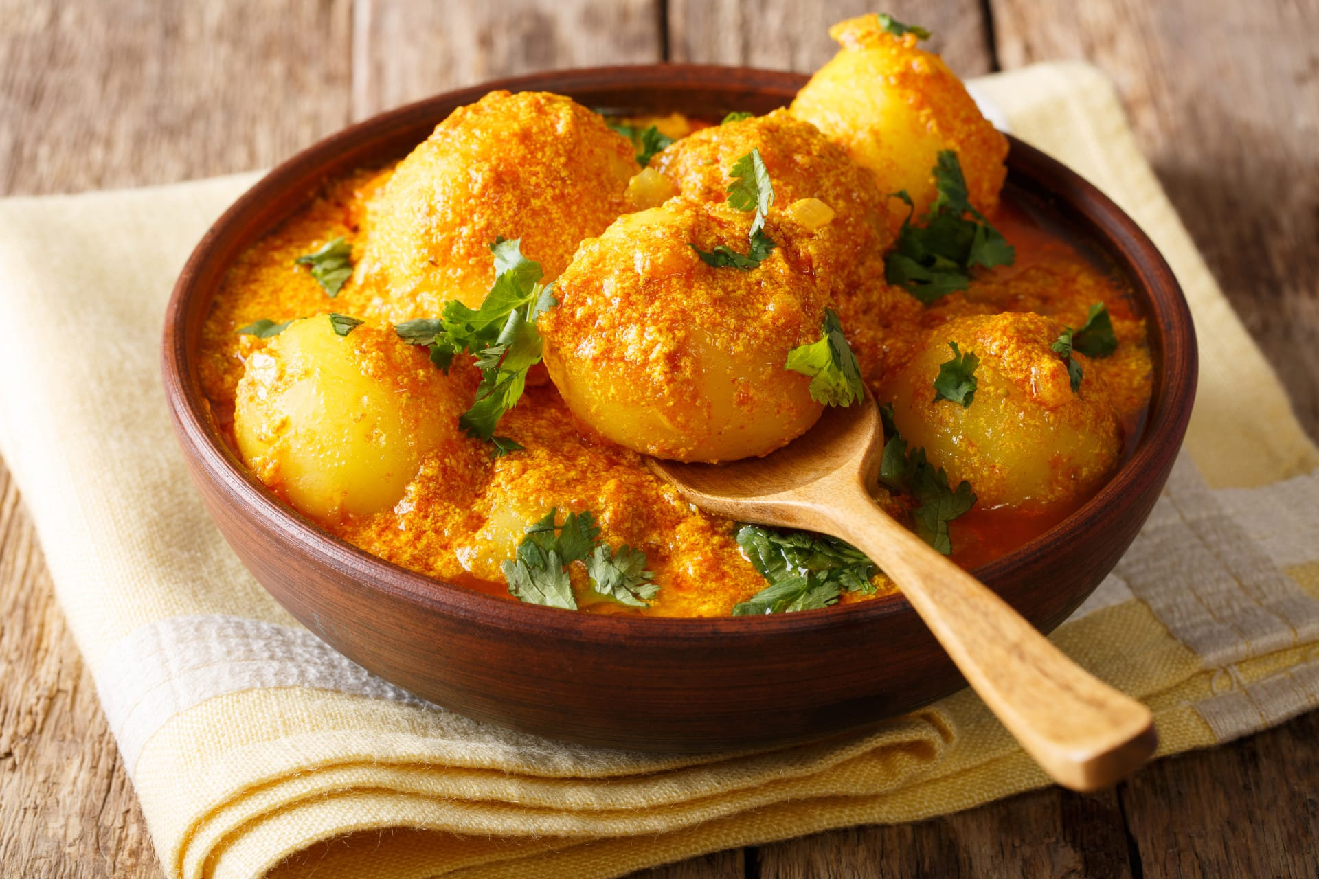 Delhi - Mouth Watering North Indian Style Dum Aloo