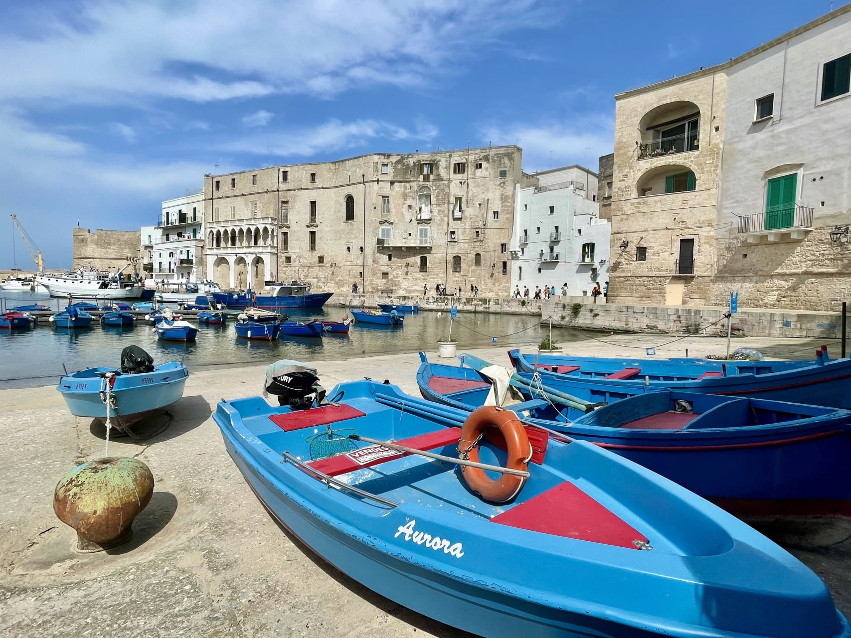 Puglia - The picturesque Ancient Town of Monopoli: A Quintessentially Southern Italian Experience