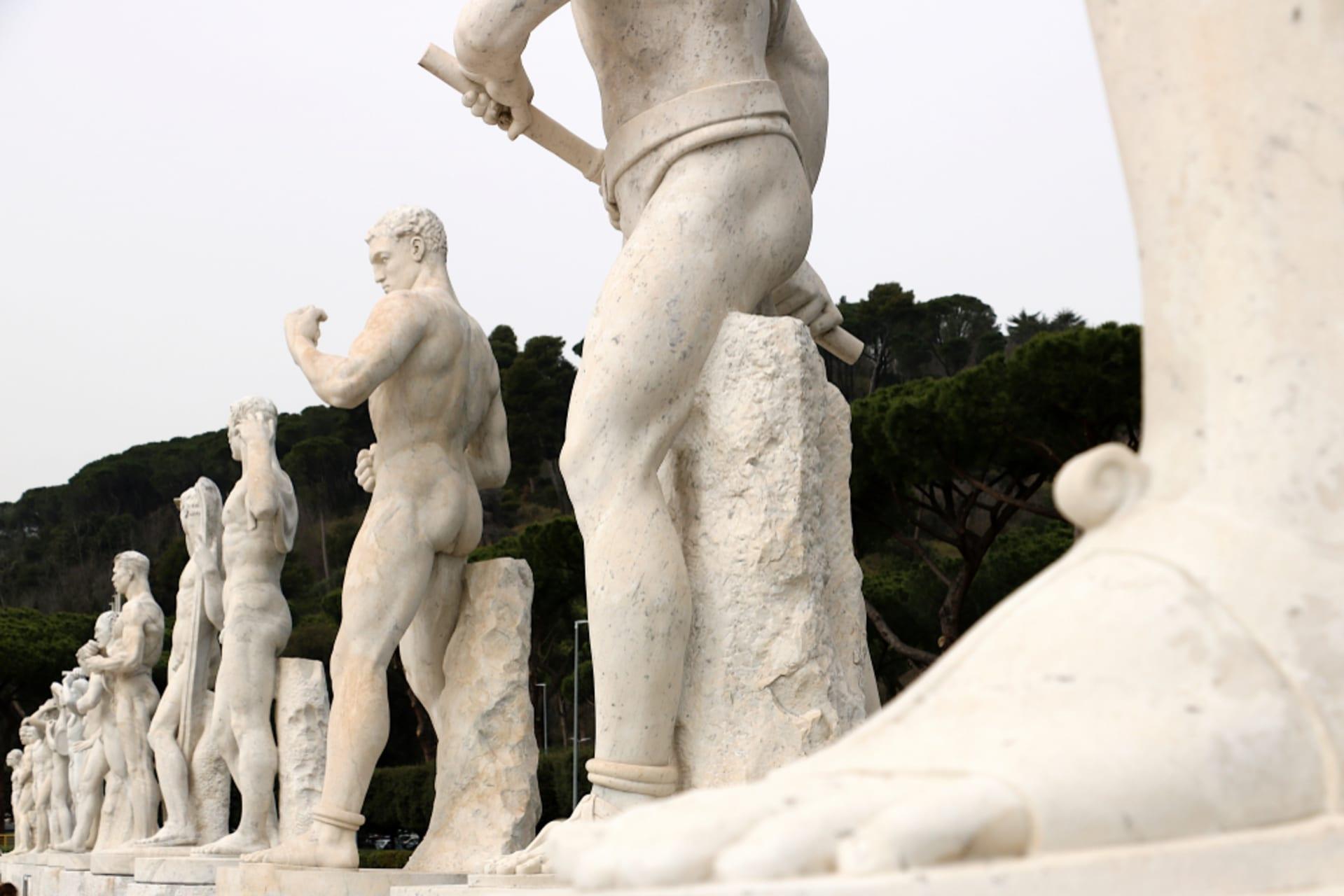 Rome - Into The White - The Italic Forum & The Olympic Stadium