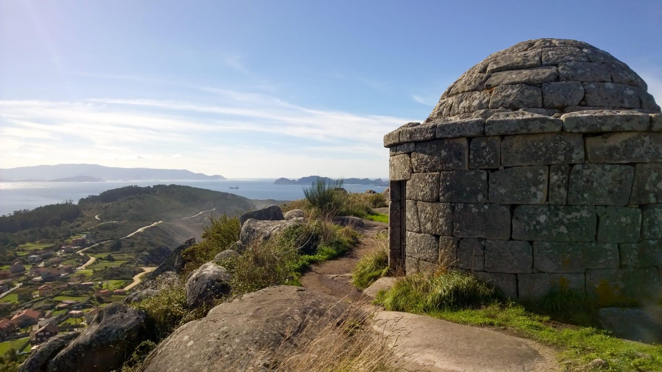 Galicia - Facho de Donon: A Celtic Hill-Fort, Roman Ruins and Ancient Lighthouse