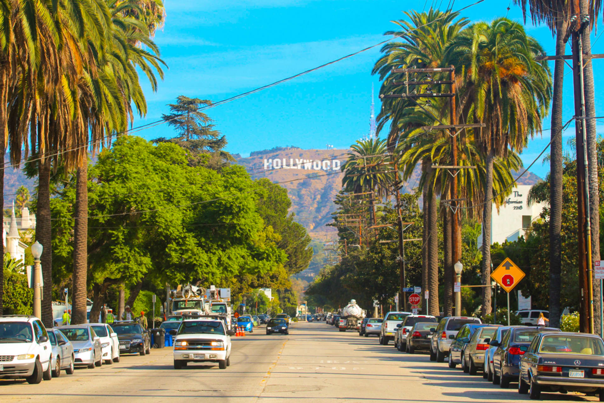 Los Angeles - Walk with the Stars: Downtown Hollywood