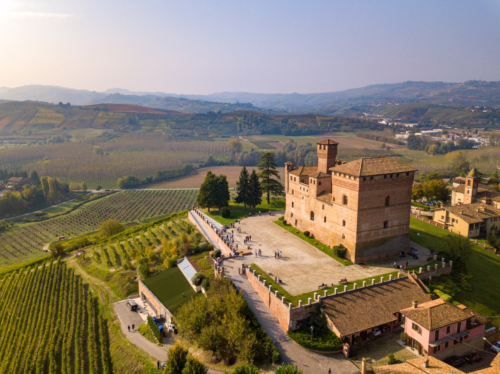 Piemonte - Barolo: Ancient castles, Rolling Hills Covered with Grapes and a Glass of Wine