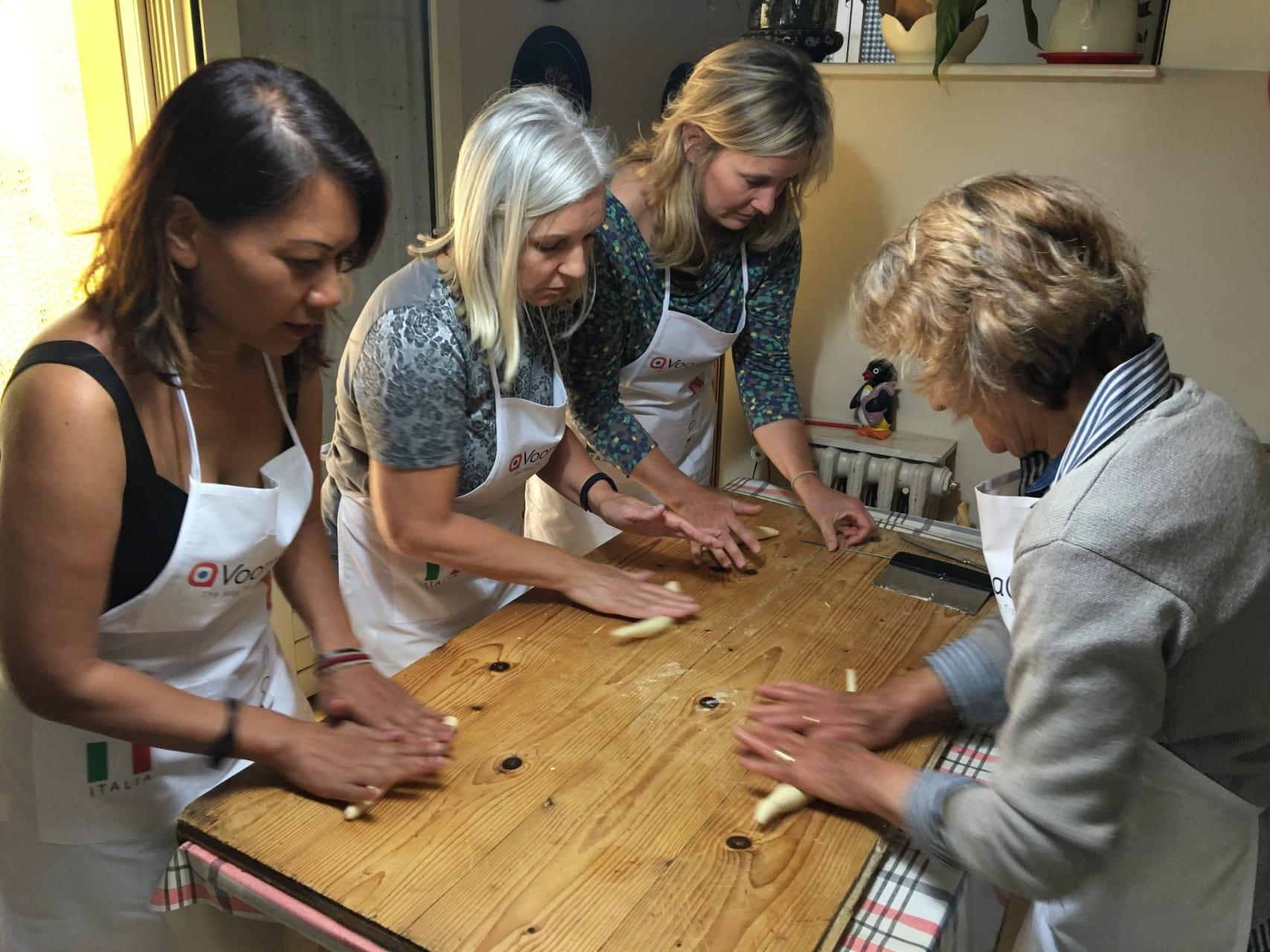 Puglia - Making Orecchiette Pasta with Mamma Anna