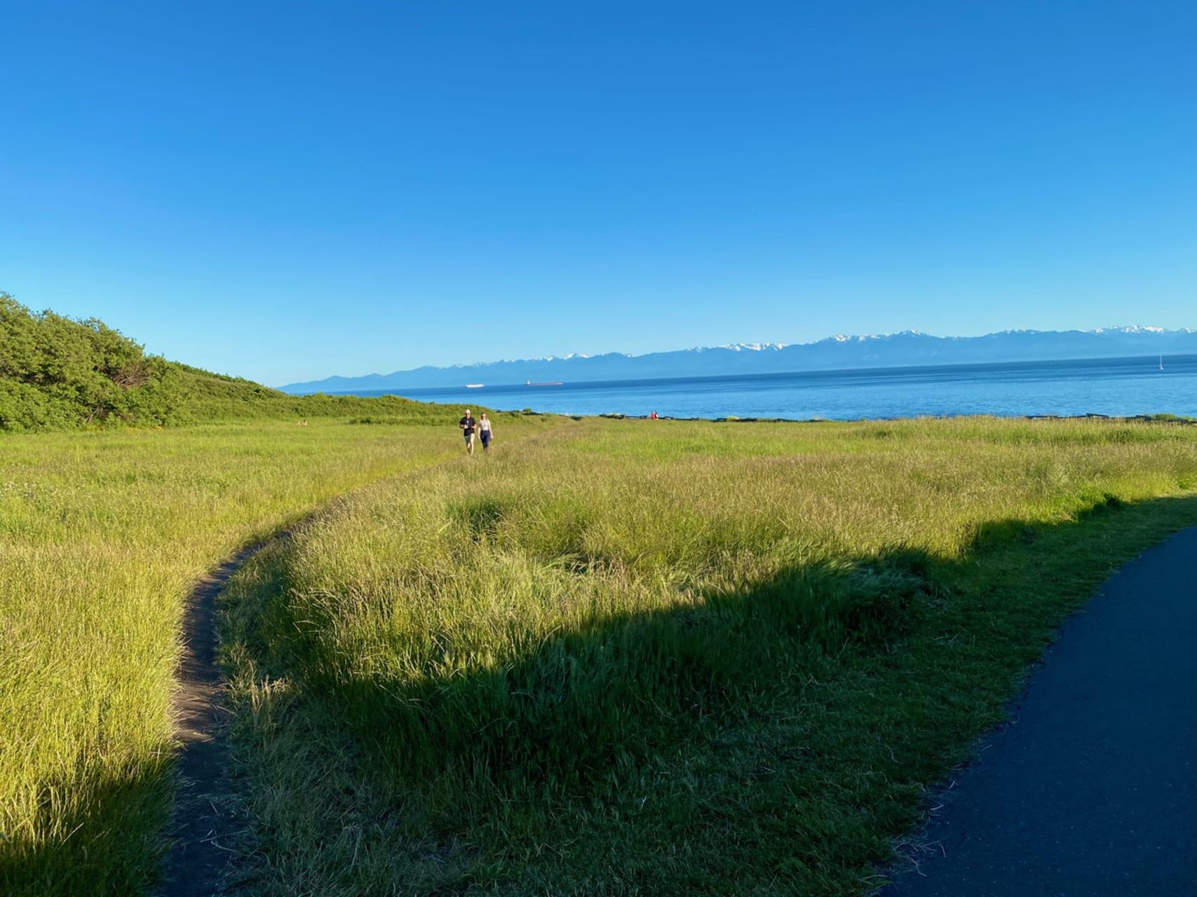 Victoria, BC - Mile 0, Tallest Totem Pole along Juan de Fuca Strait