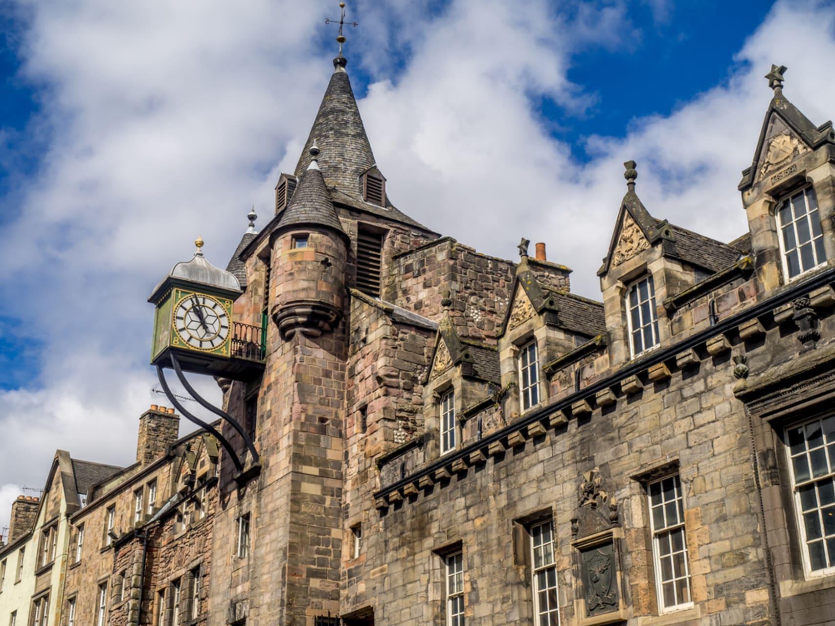 Edinburgh - The Royal Mile: Cannongate to Abbey Strand