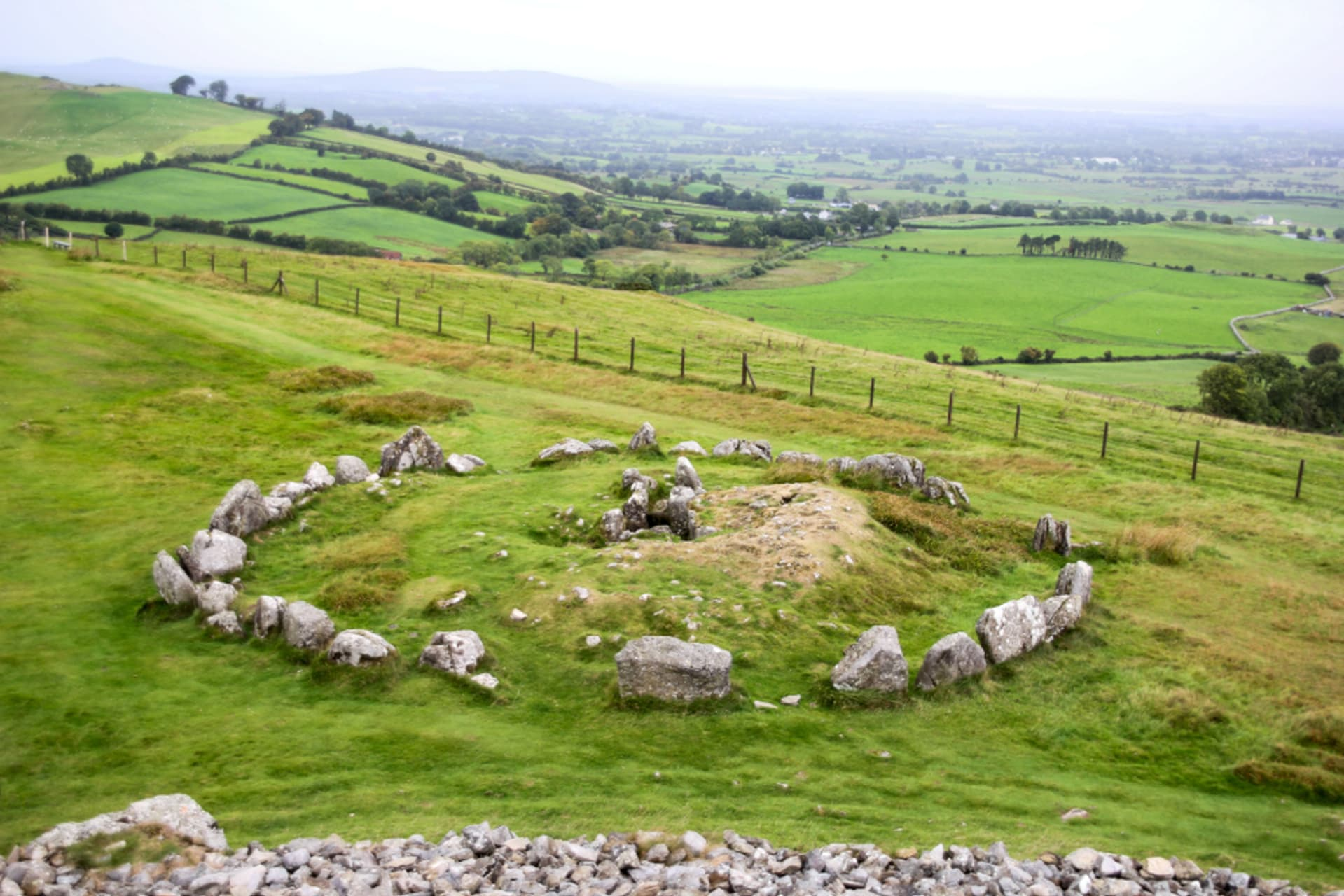 County Meath - Loughcrew Cairns.. Hill of the witches