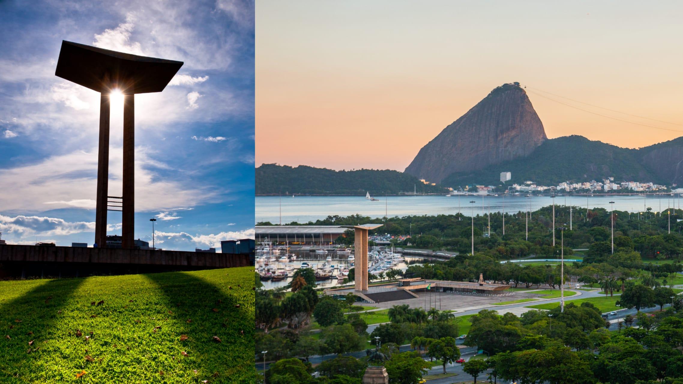 Rio de Janeiro - RIO National Monument to the Dead of WWII