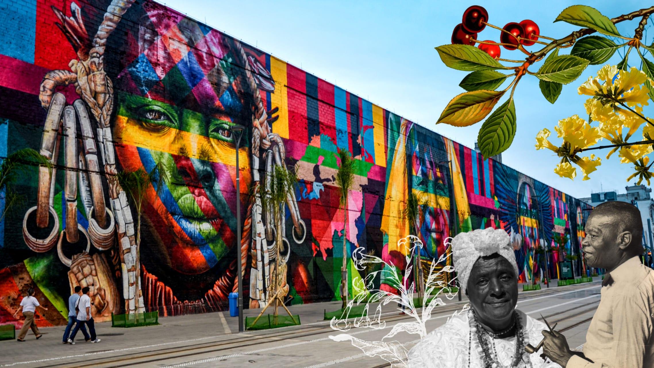 Rio de Janeiro - The Rio Encantos Black History Walk and Street Art