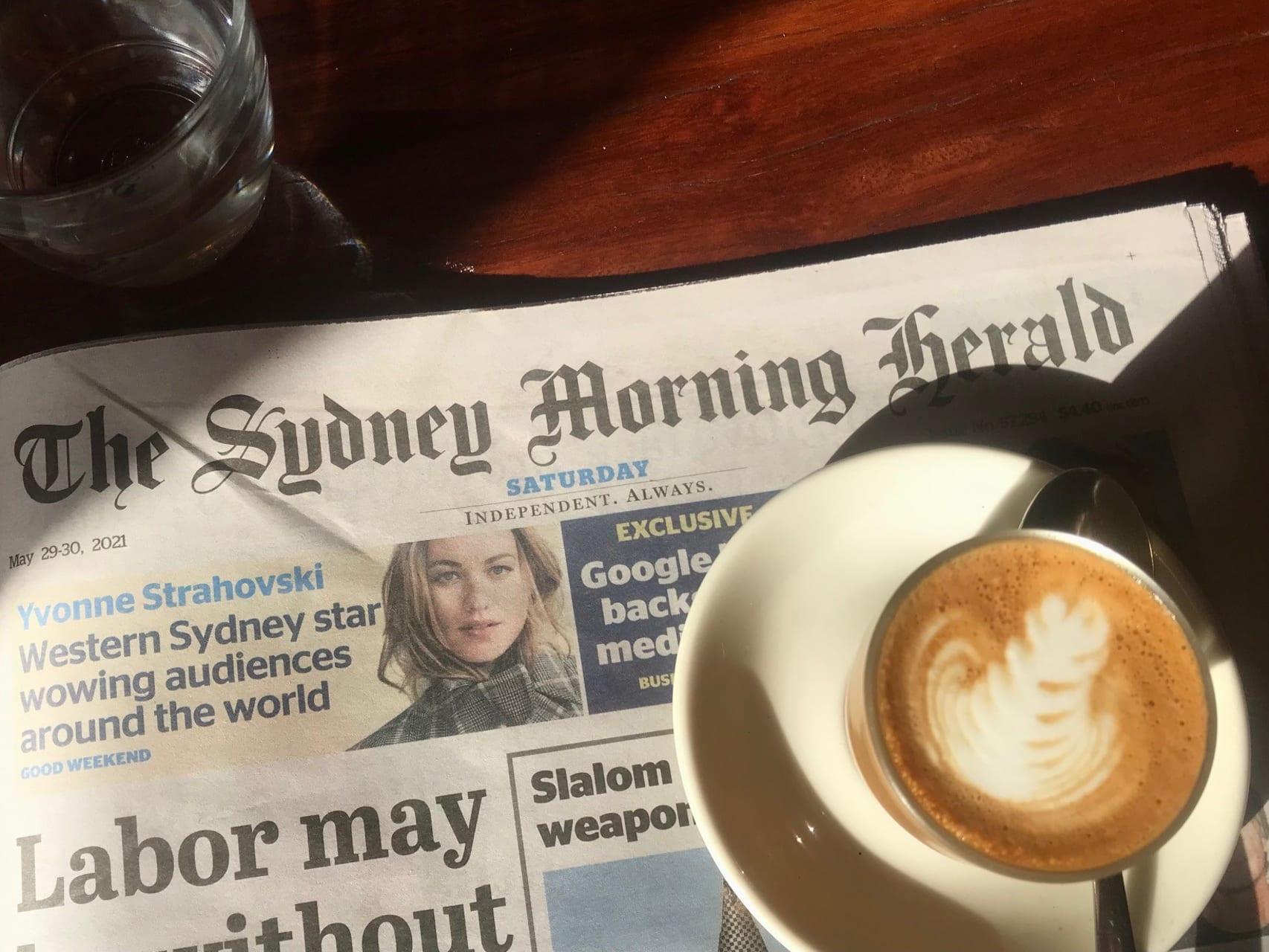 Sydney - In a Sydney Cafe