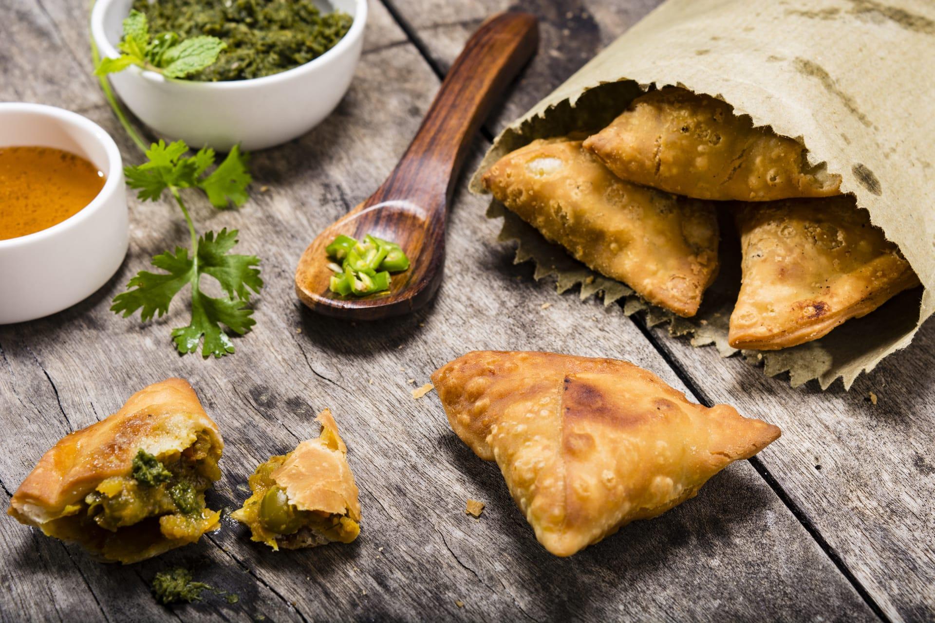 Jaipur - Samosas - The Popular Indian Snack