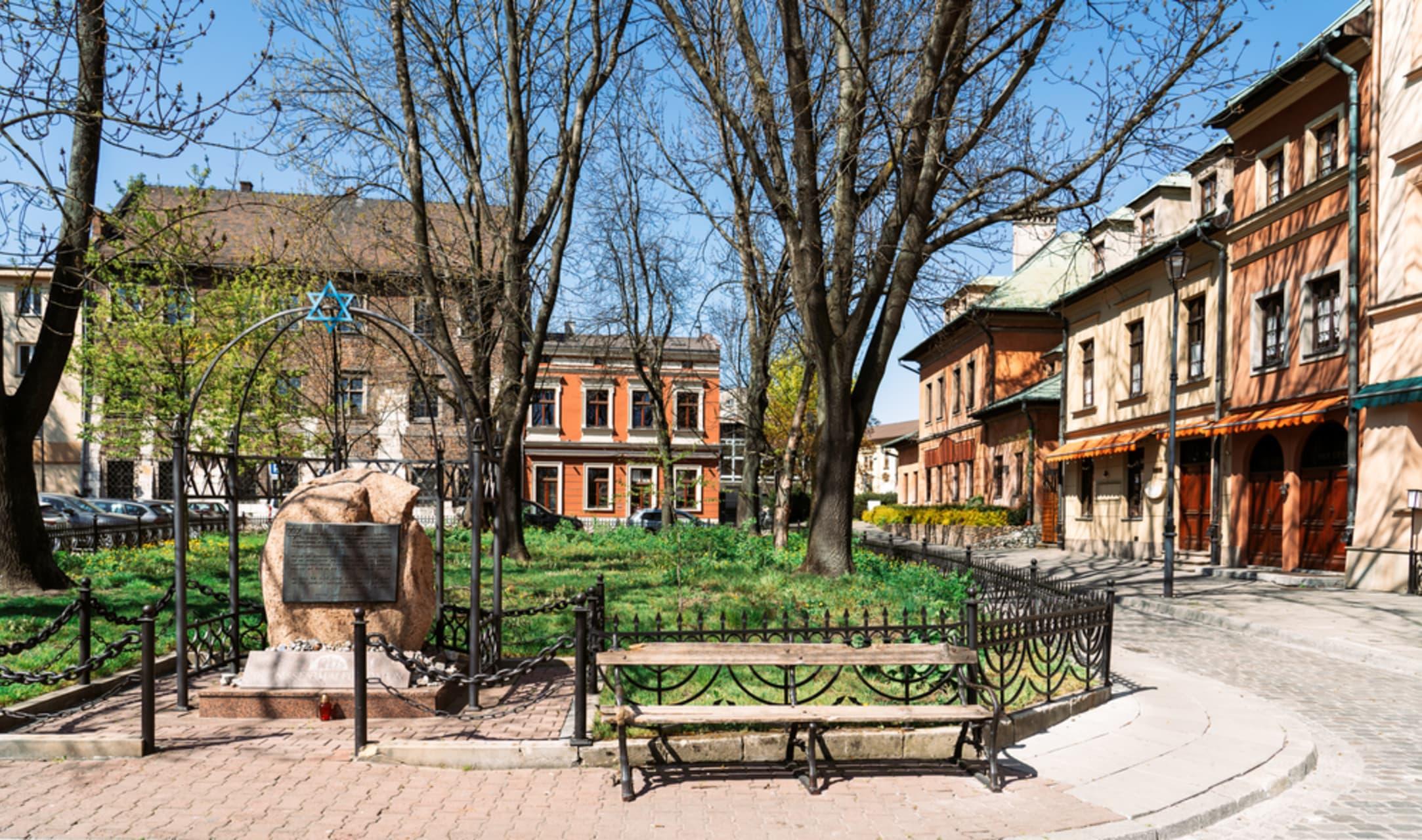 Krakow - Krakow famous Jewish Quarter - artistic atmosphere & historical importance