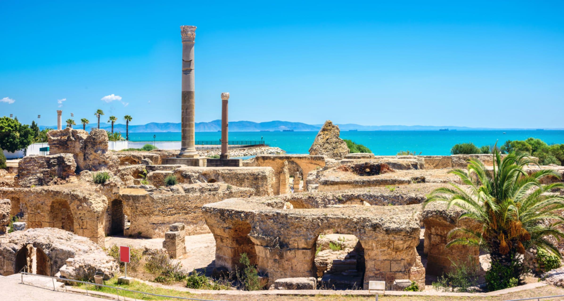 Tunis & Carthage - Carthage – The Antonine Baths