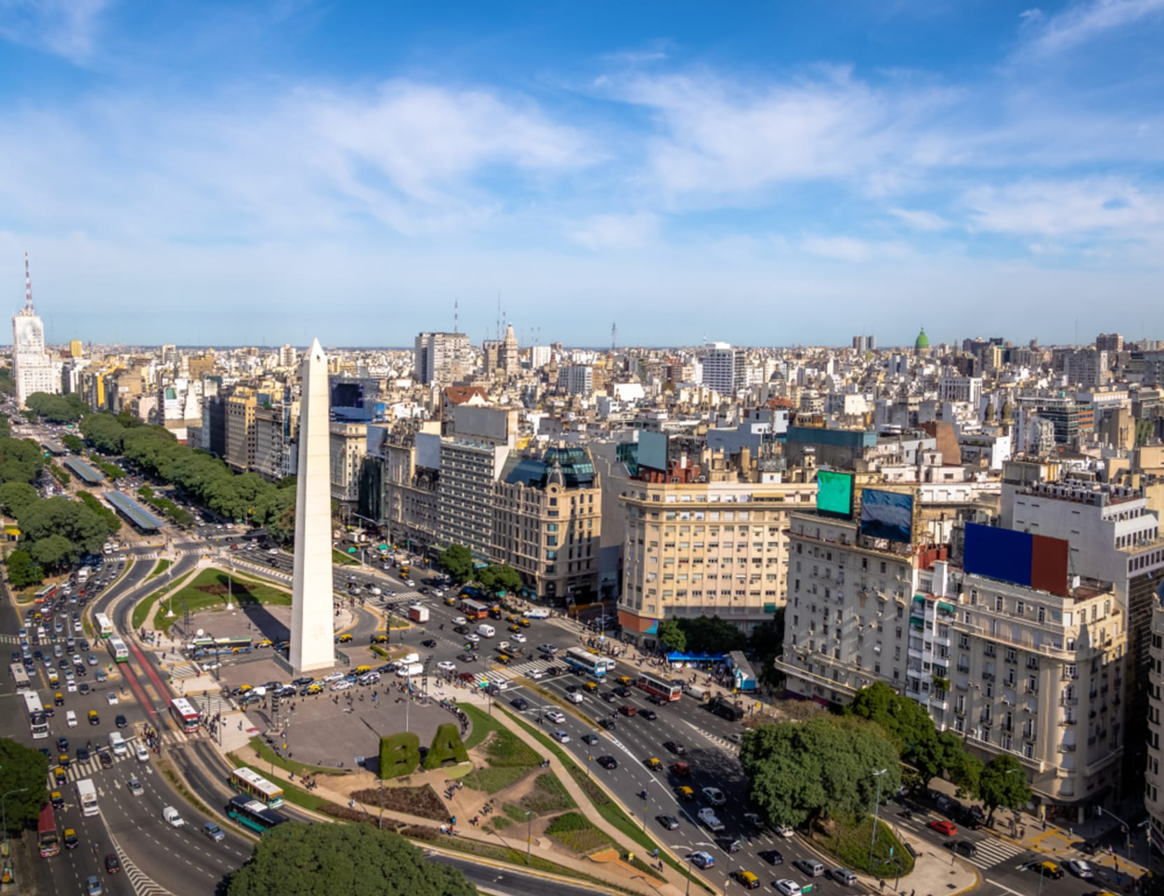 Buenos Aires - Buenos Aires: The Widest Avenue in the World and the Opera