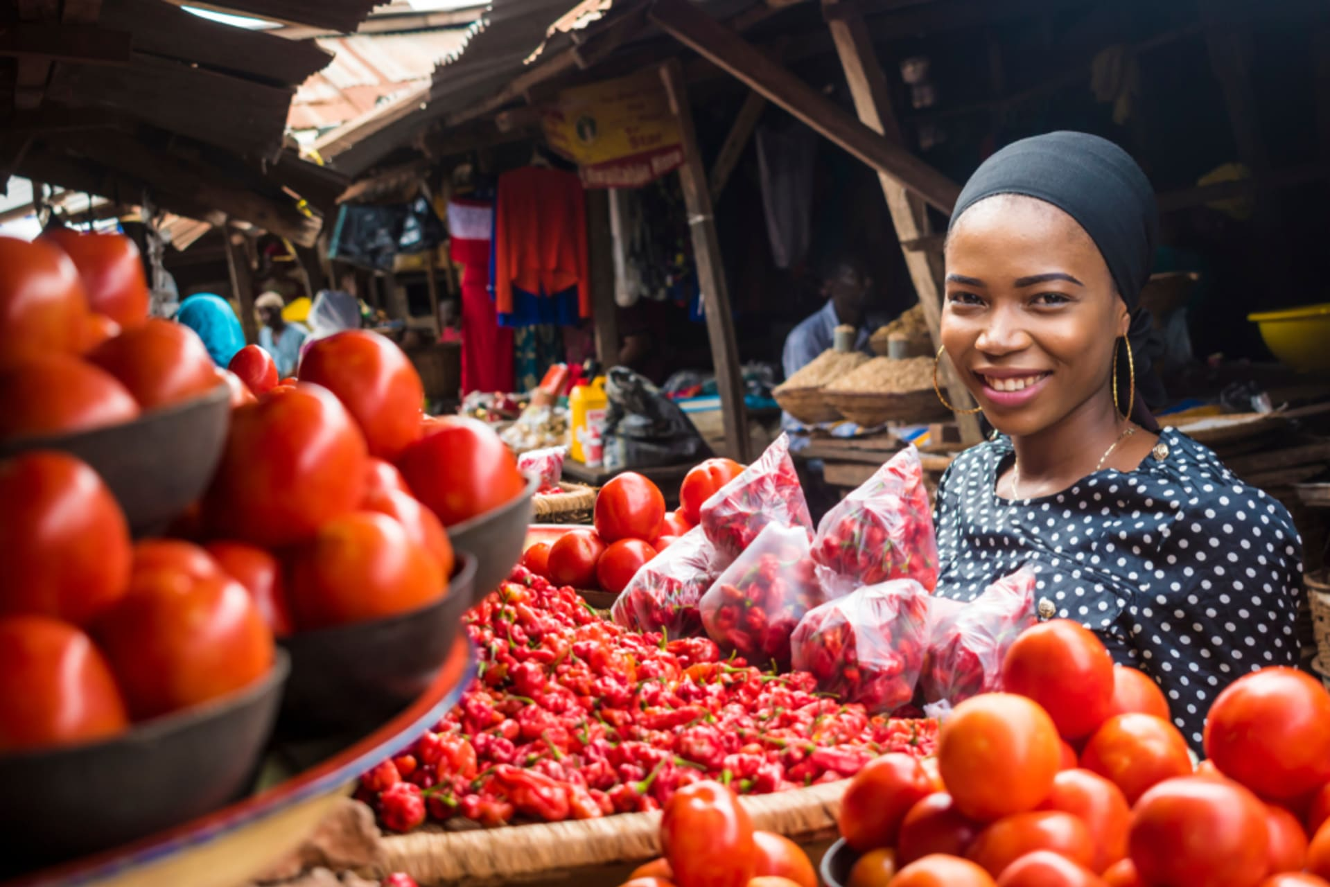 Accra - Greenwich Meridian Market Tour