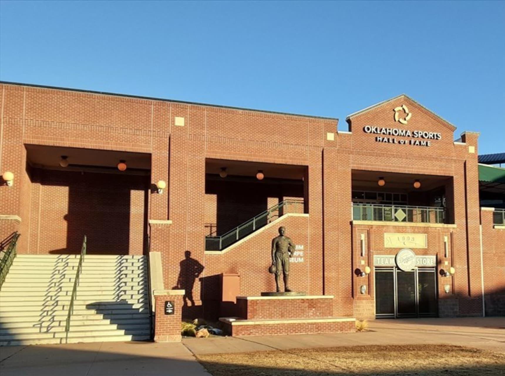Oklahoma City - Jim Thorpe:   America's Greatest All-Around Athlete--A Visit Inside Oklahoma's Jim Thorpe Museum