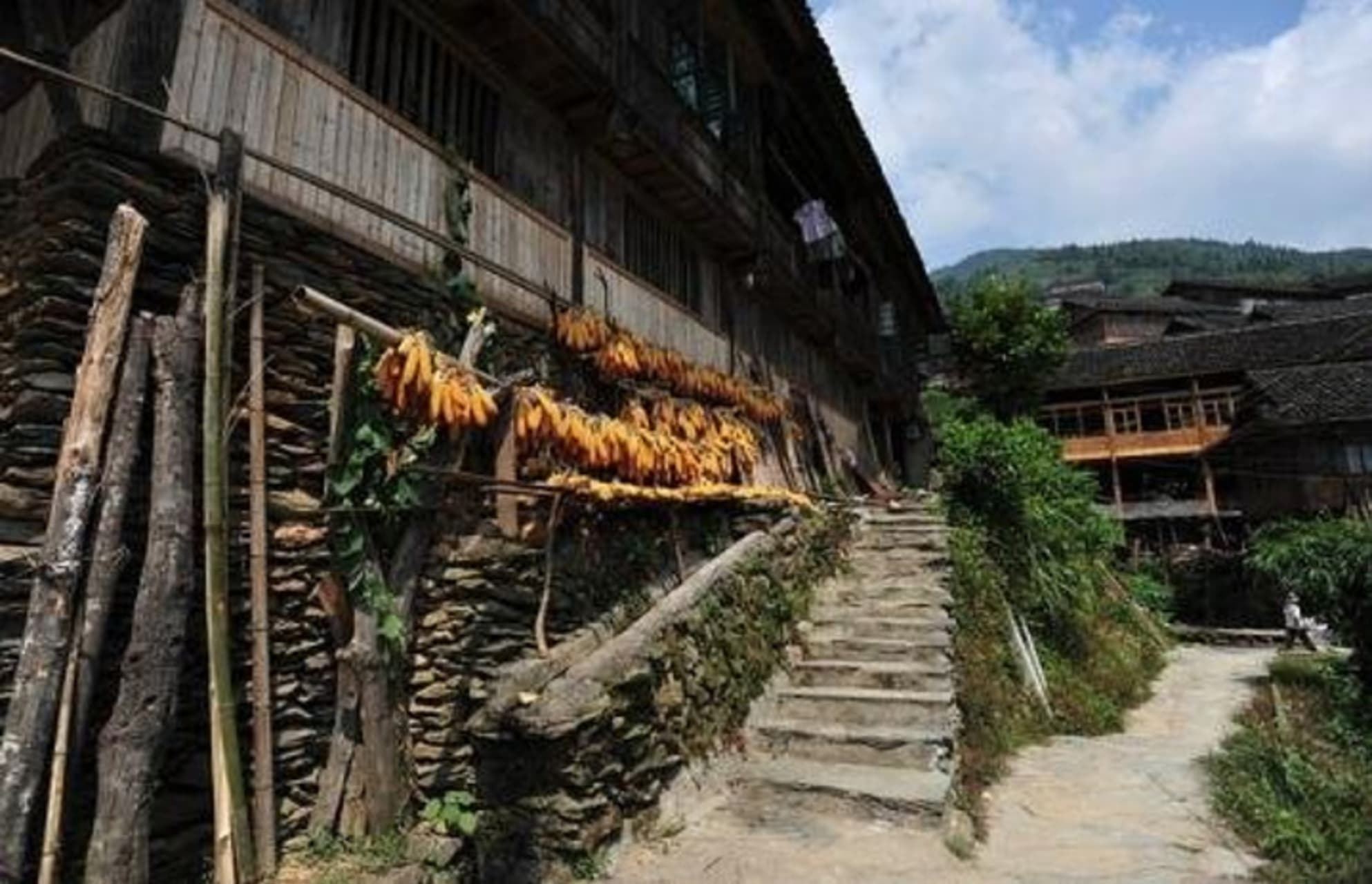 Guilin - One And Half Century-Old Zhuang Minority House with Its Unique Story