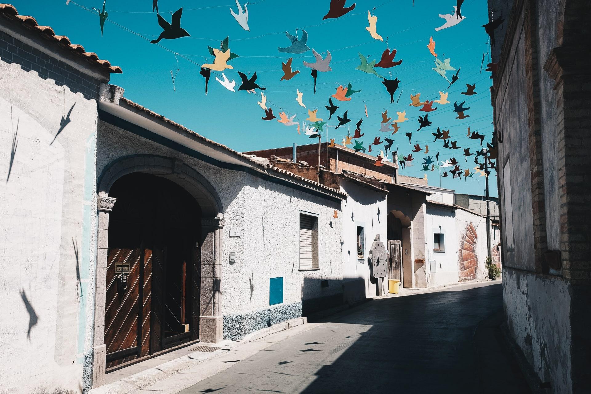 "Sardinia - Exploring Street Art and Murals in San Sperate ""The Museum Village"""