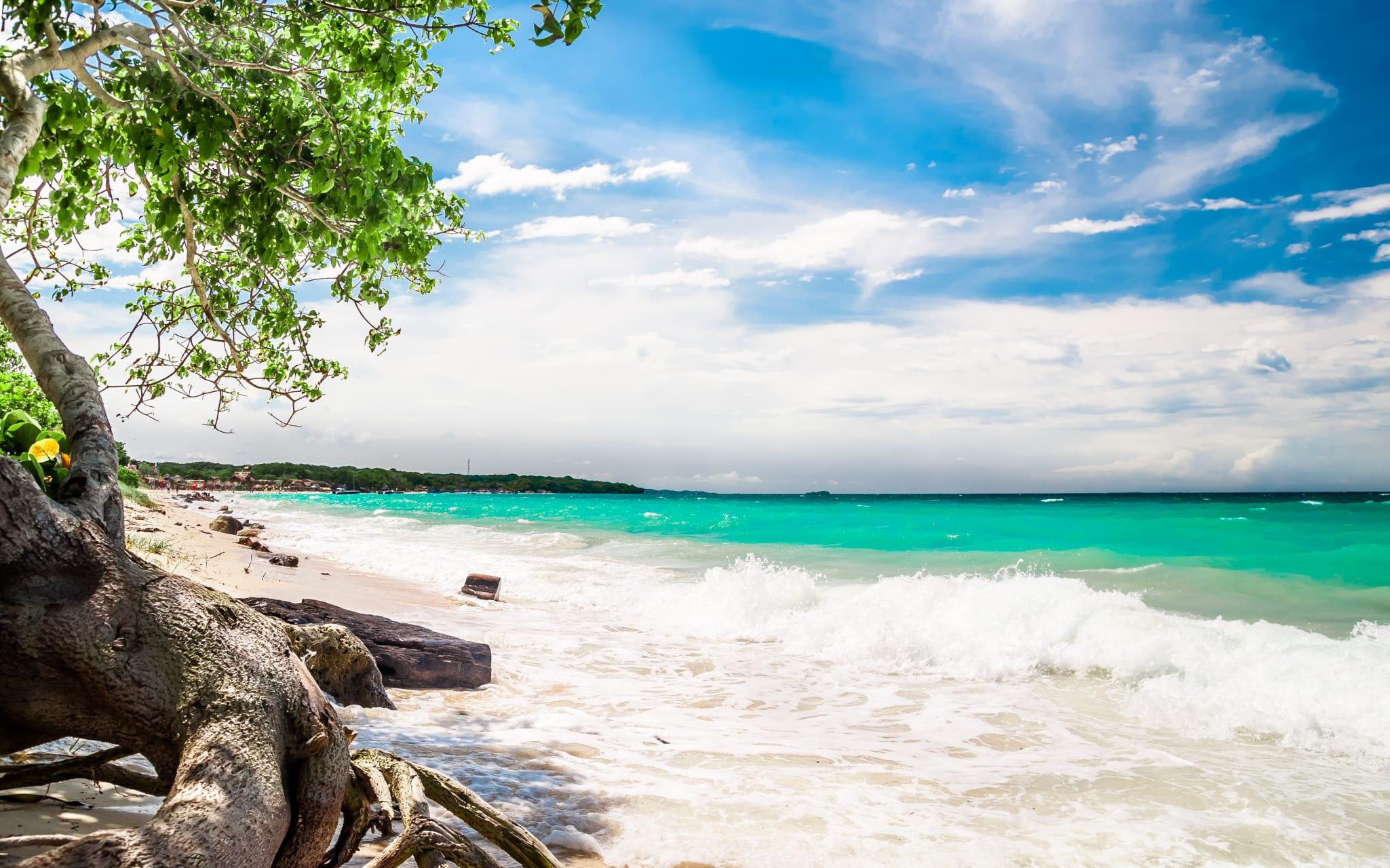 Cartagena - Beach Tour at Playa Blanca in Baru Island