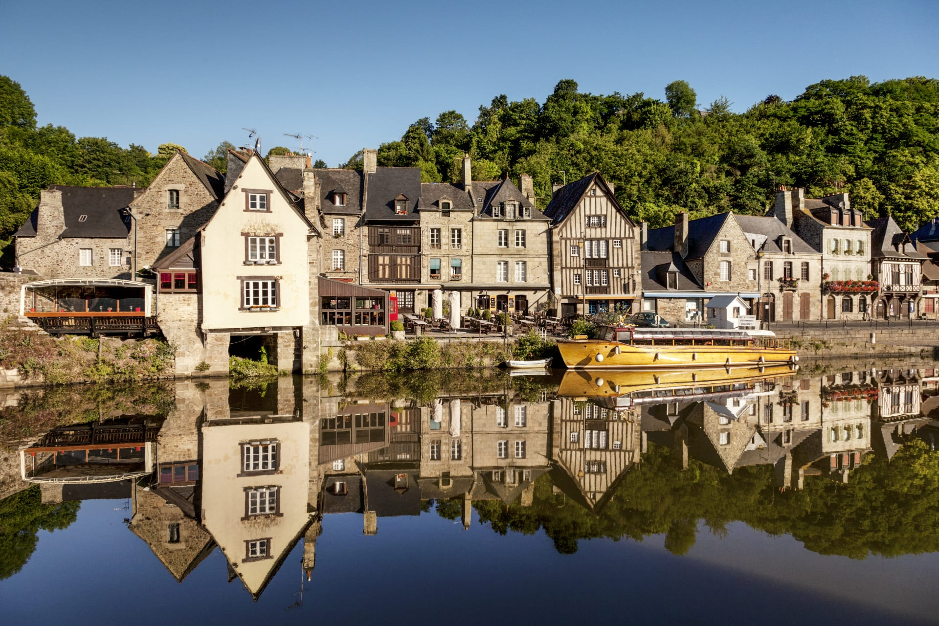 Brittany North - Dinan, the most attractive and best preserved small towns in Brittany