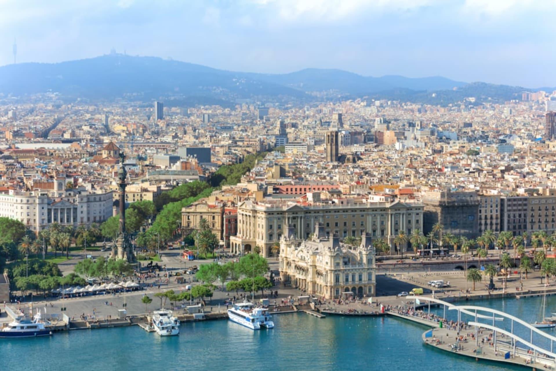 Barcelona - Randonée le Long de La Rambla (TOUR IN FRENCH)
