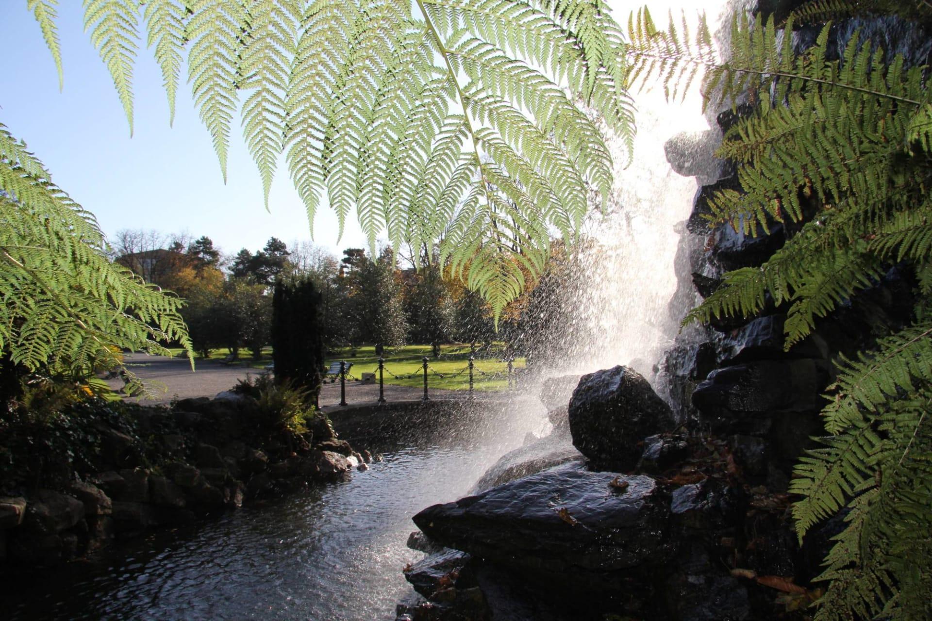 Dublin - Iveagh Gardens - Dublin's Secret Gardens