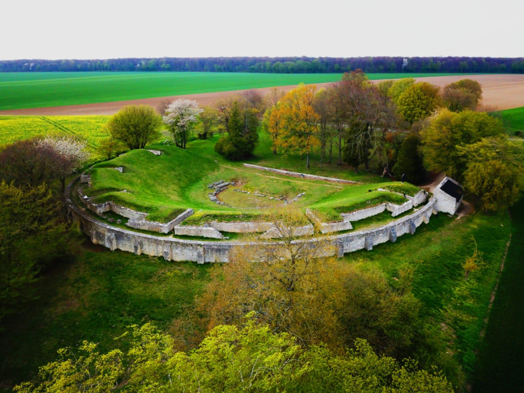 Oise - The Gallo-Roman site of Champlieu