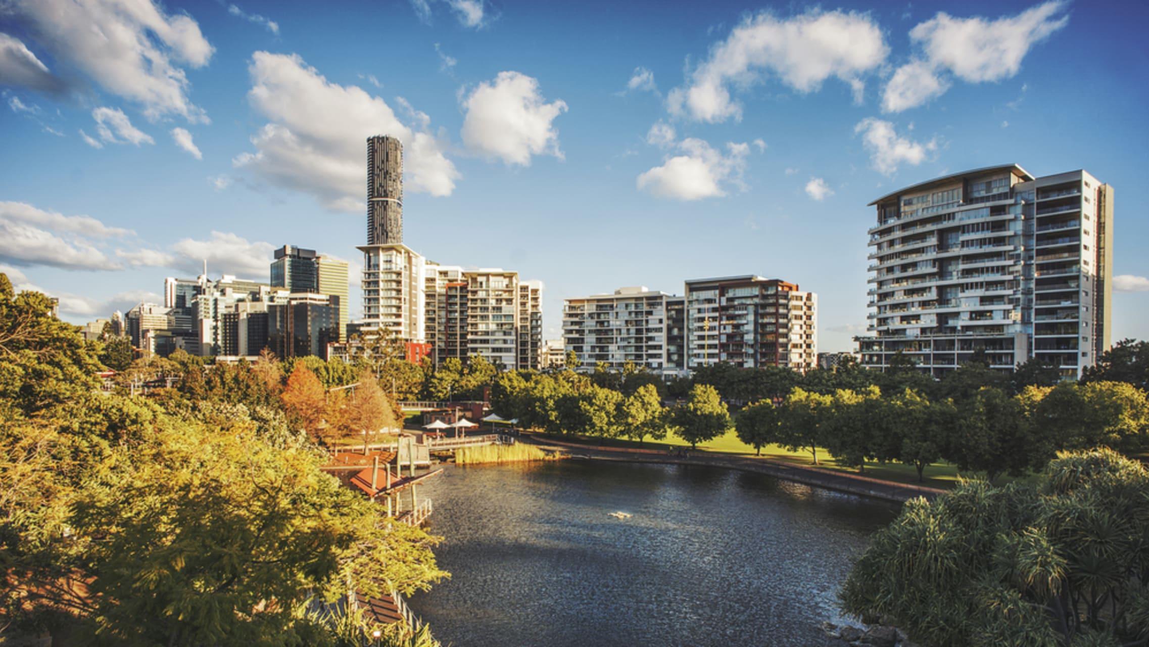 Brisbane - Roma Street Parkland