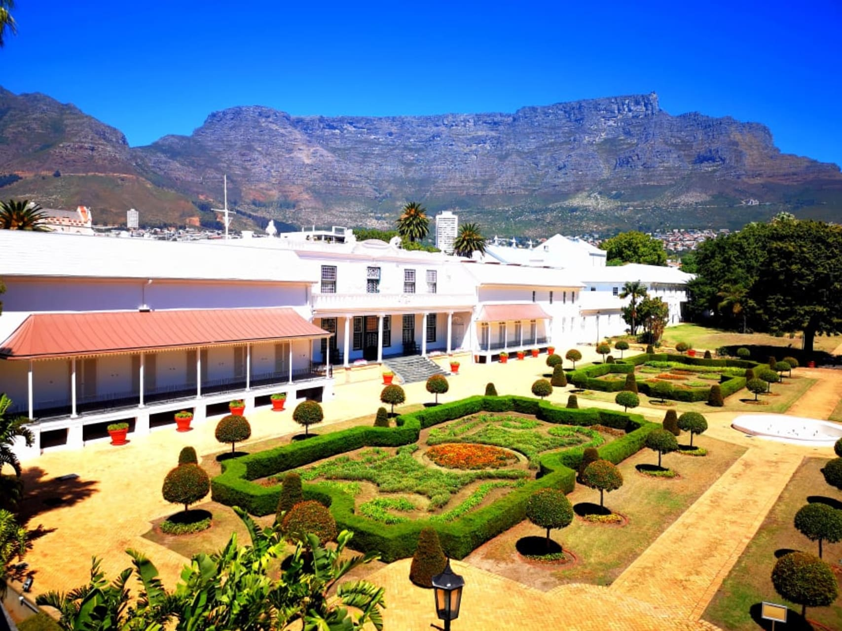 Cape Town - Company Gardens: the oldest park in South Africa