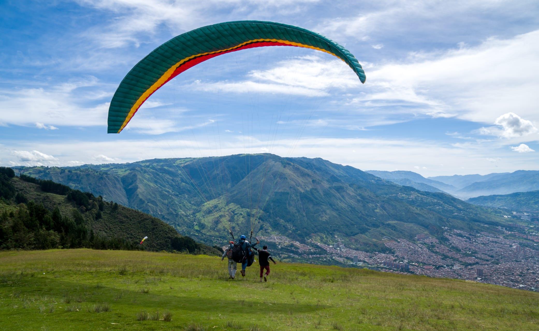 Medellín - Paragliding Over Medellín